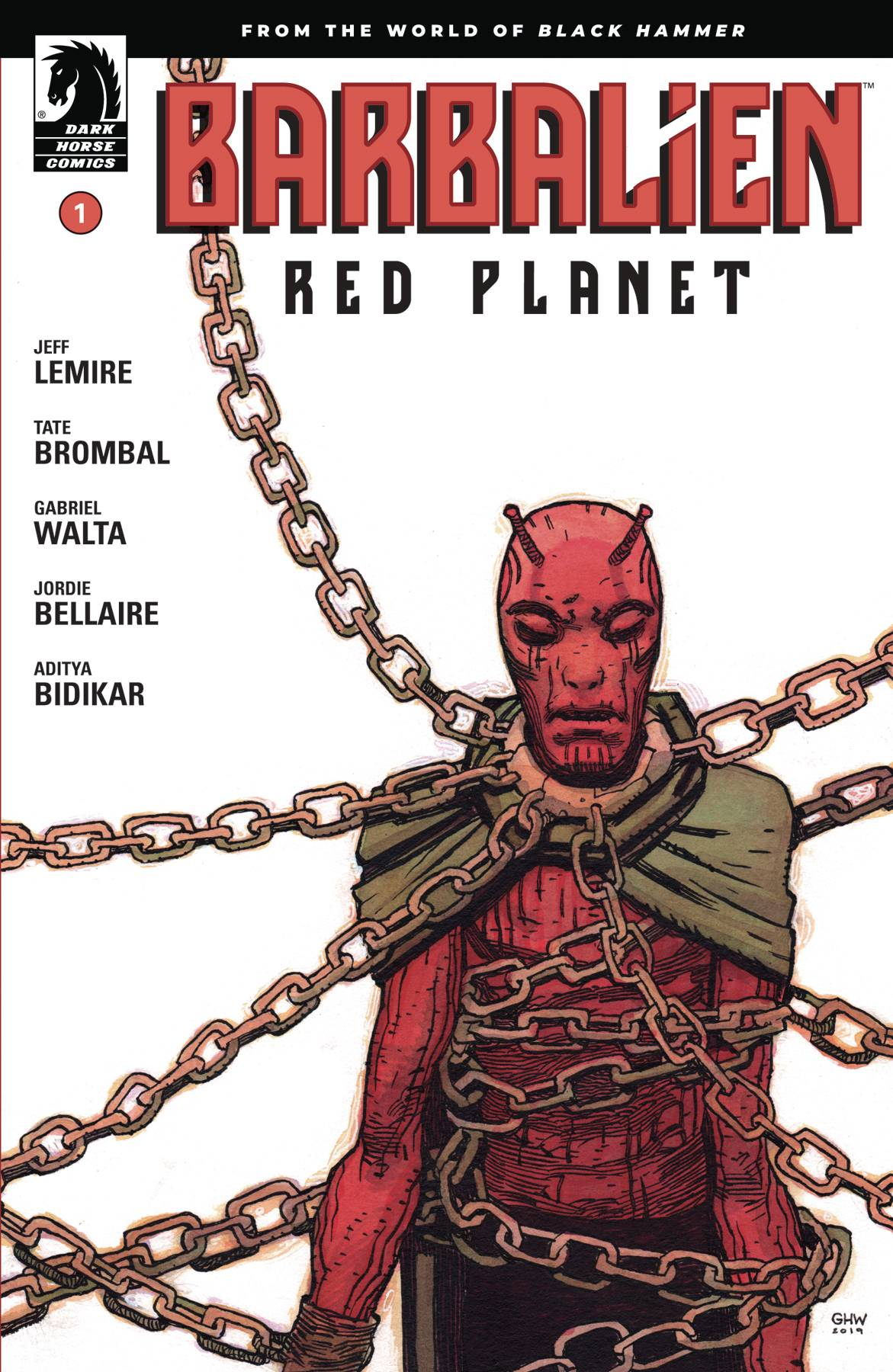 Barbalien: Red Planet #1 (2020)