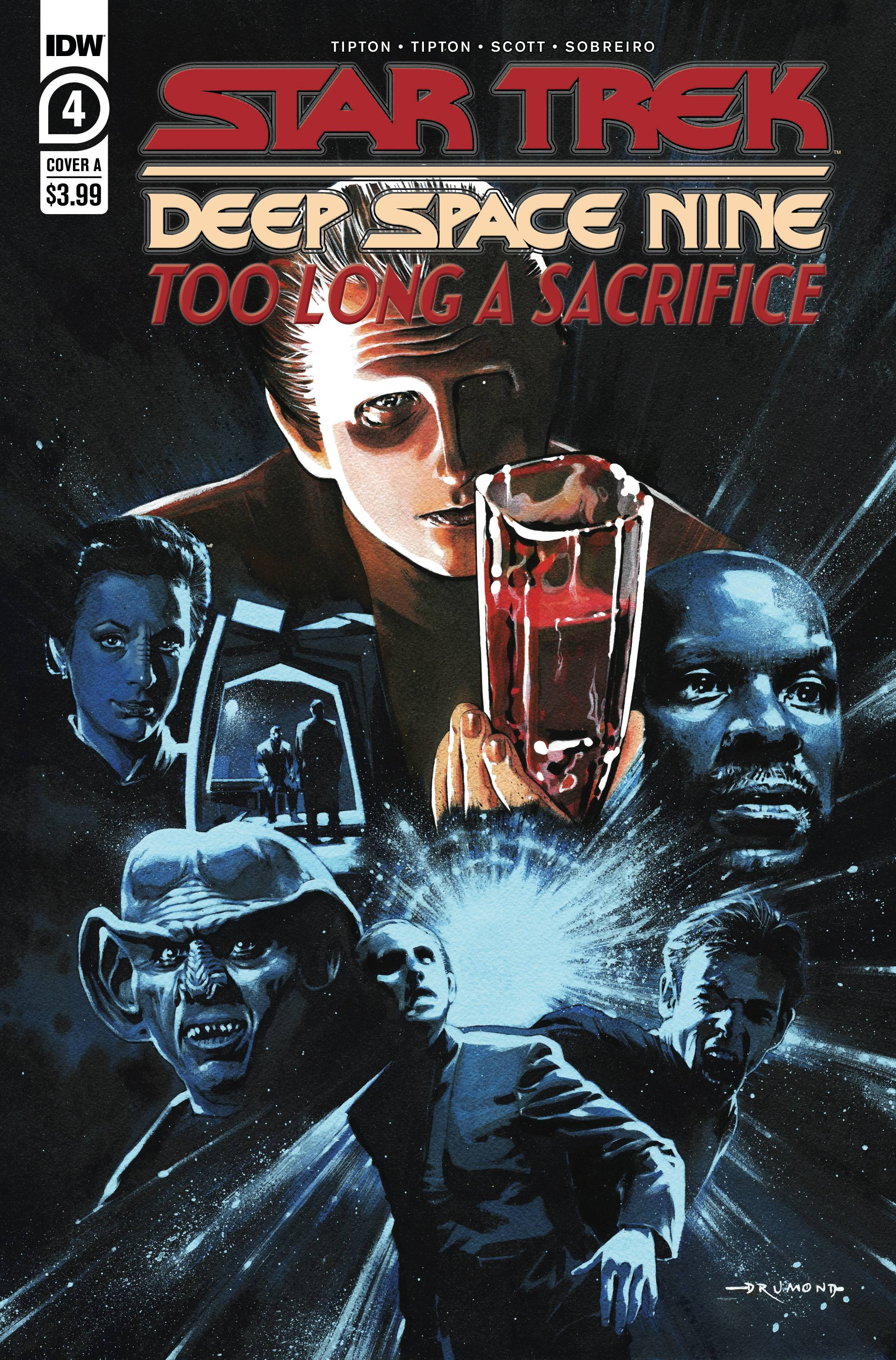 Star Trek: Deep Space Nine - Too Long A Sacrifice #4 (2020)