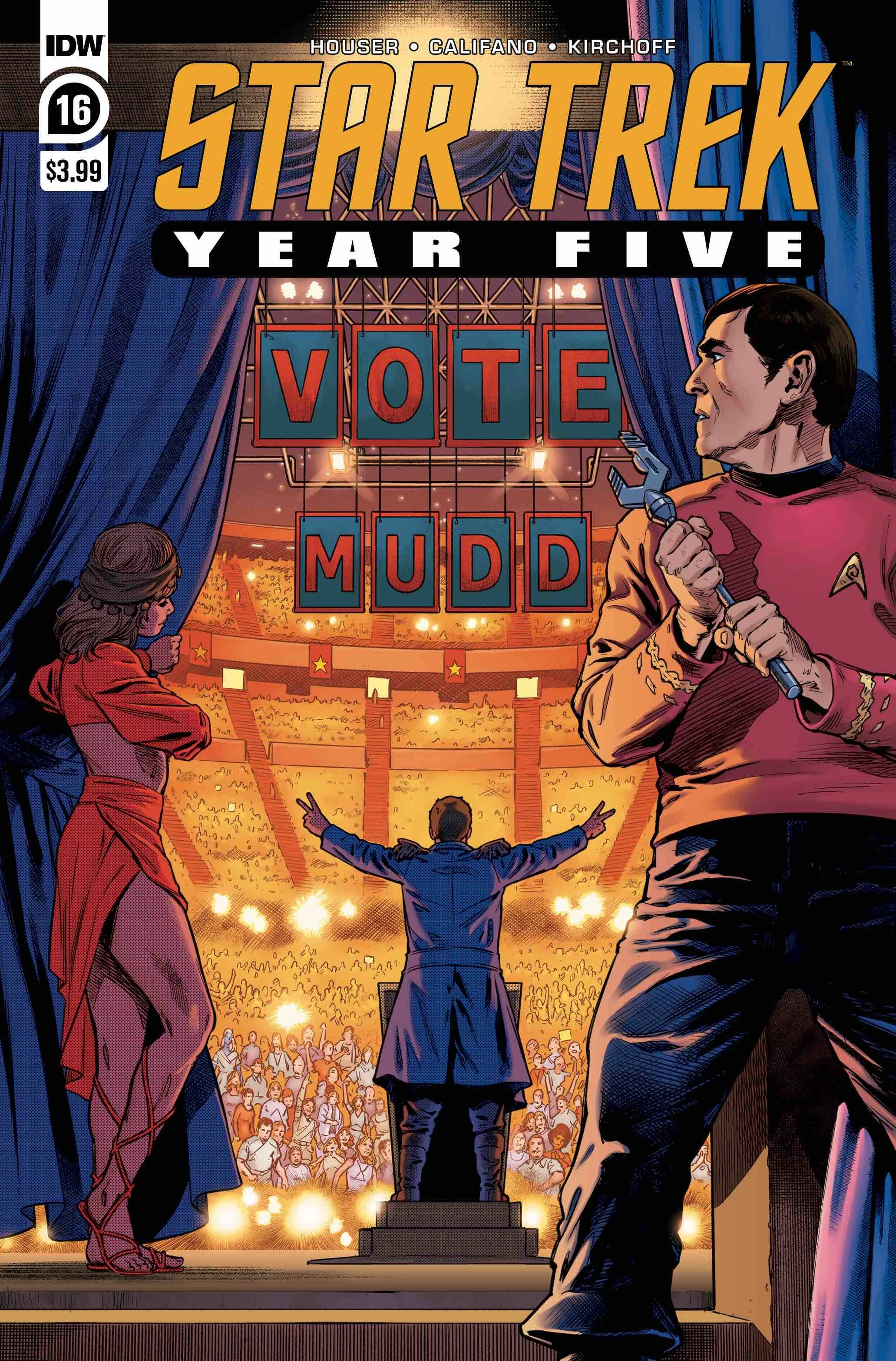 Star Trek: Year Five #16 (2020)