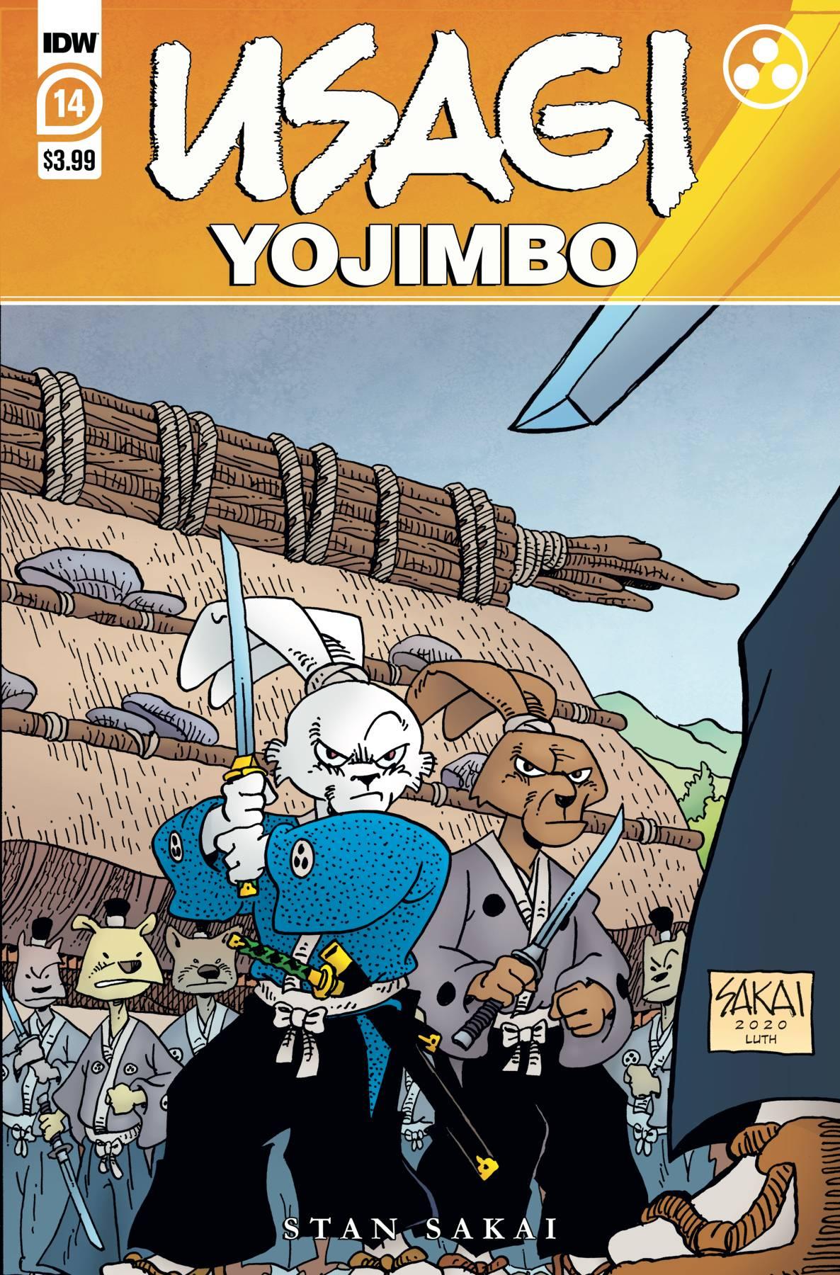 Usagi Yojimbo #14 (2020)