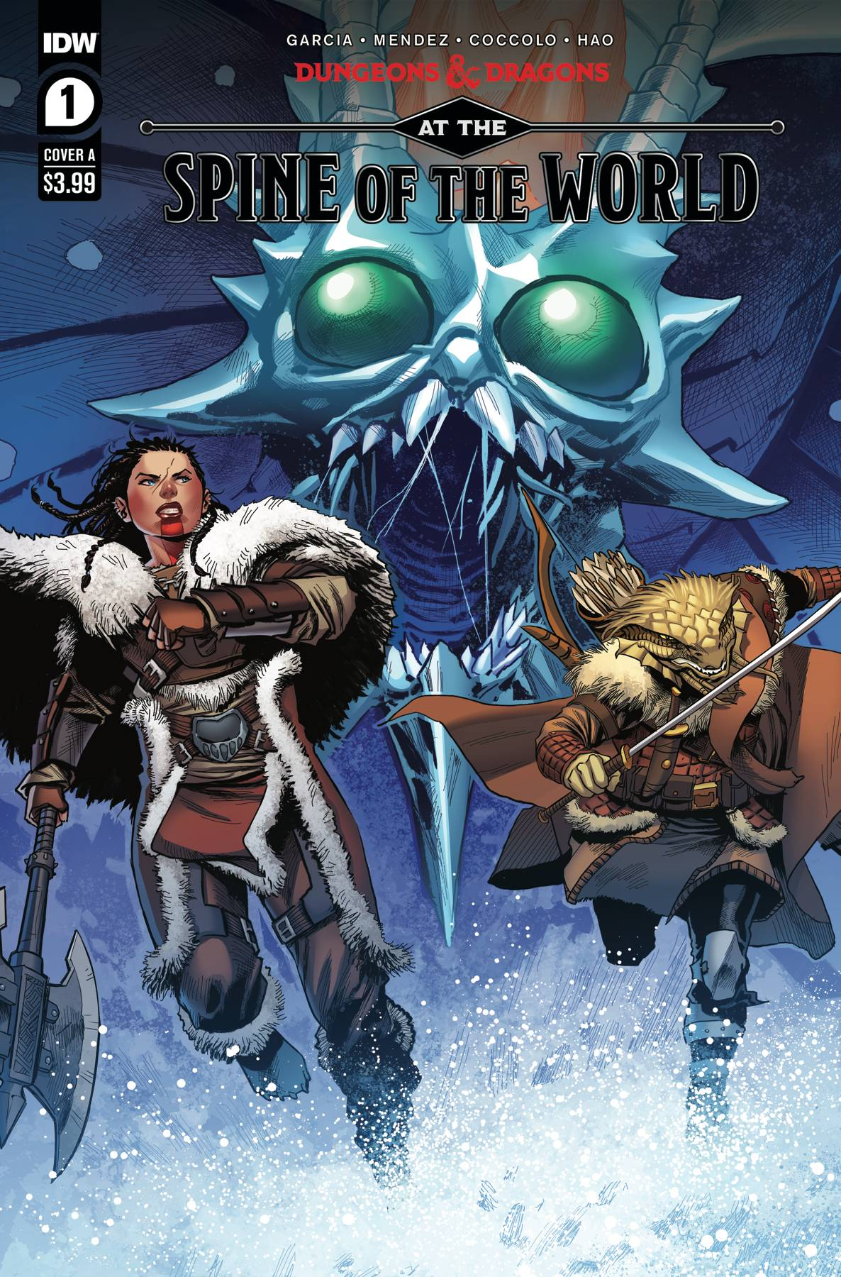 Dungeons & Dragons: At the Spine Of the World #1 (2020)