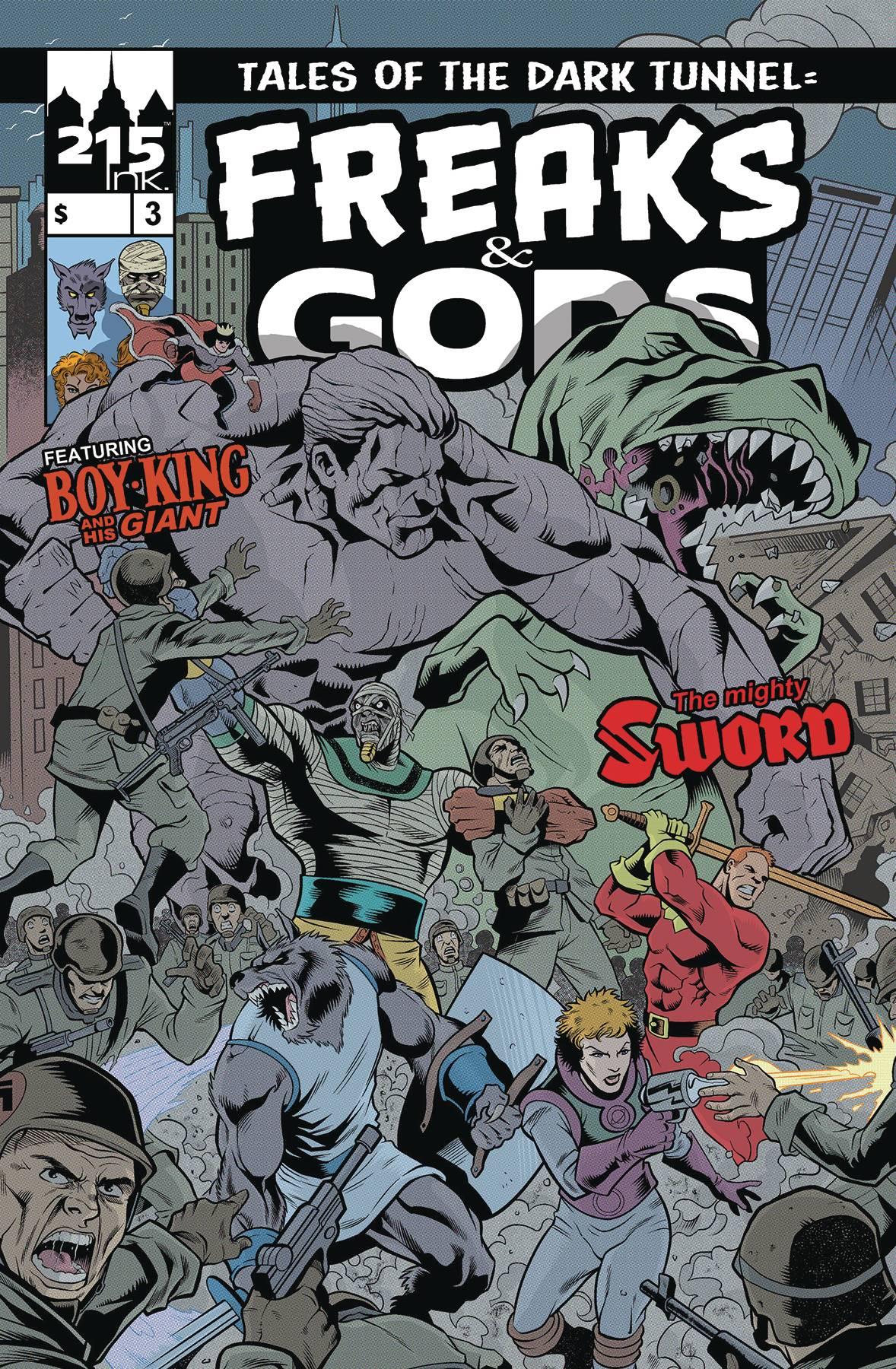 Freaks & Gods #3 (2020)
