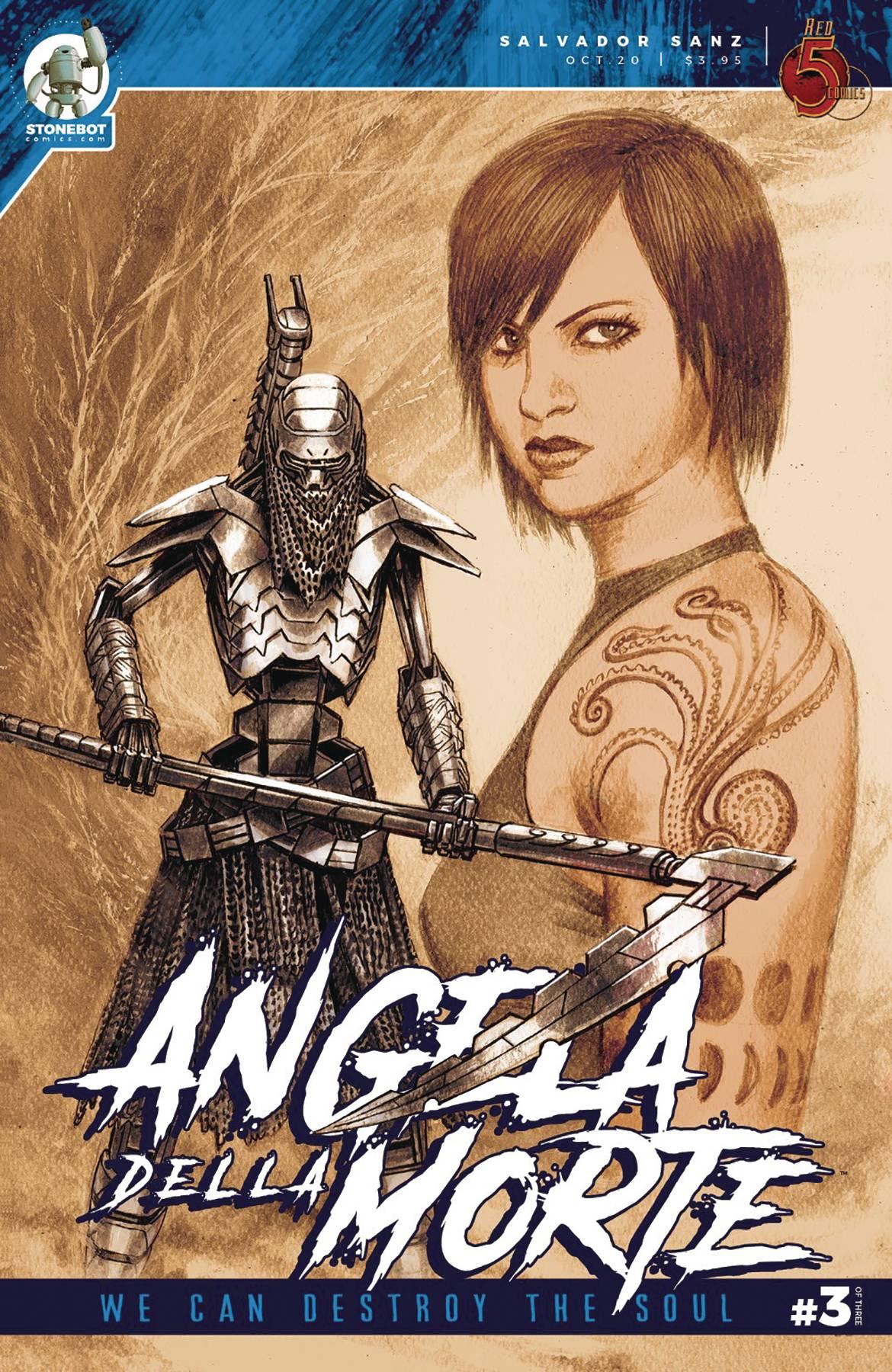 Angela Della Morte Vol 2 #3 (2020)