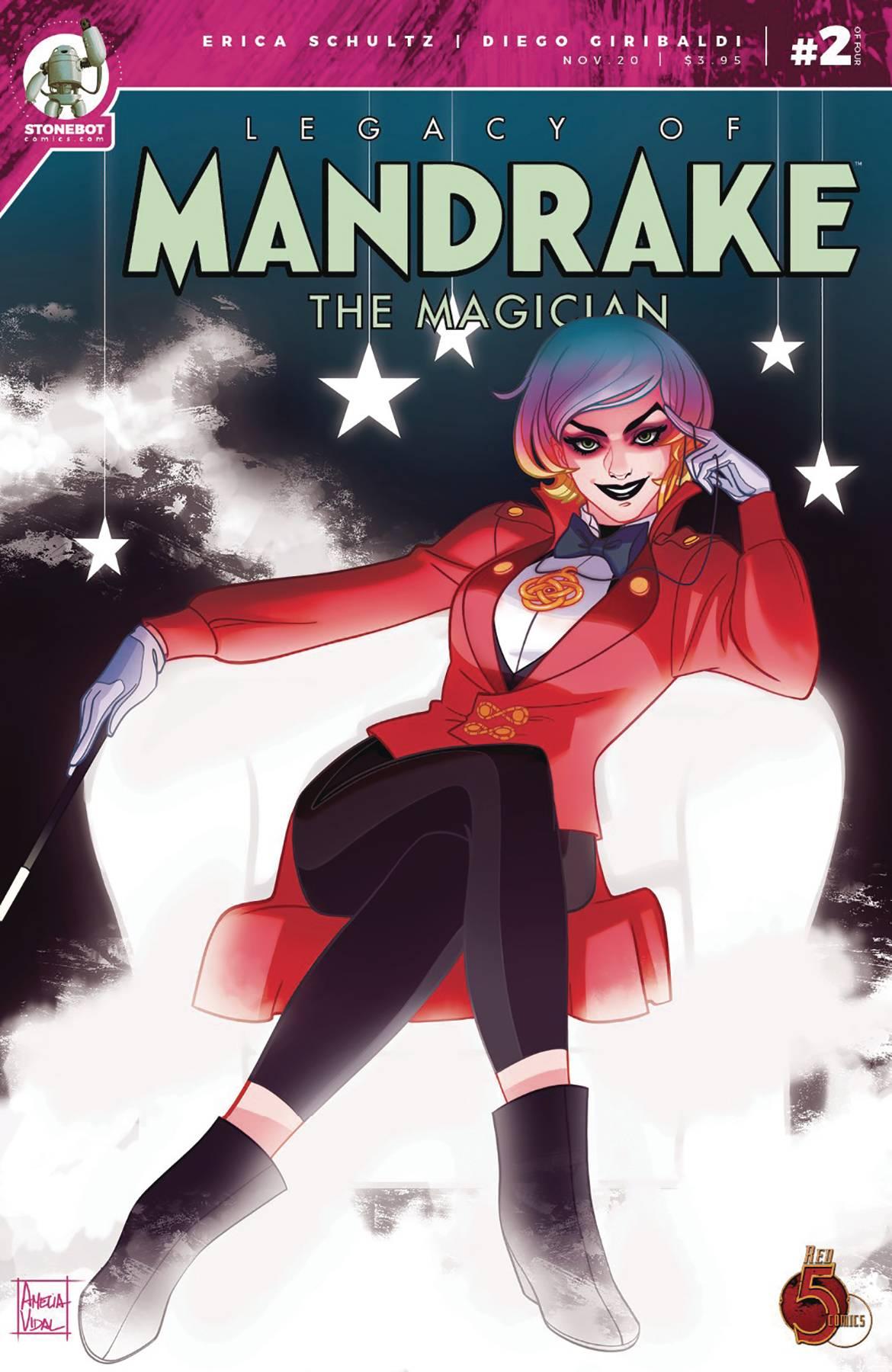 Legacy Of Mandrake The Magician #2 (2020)