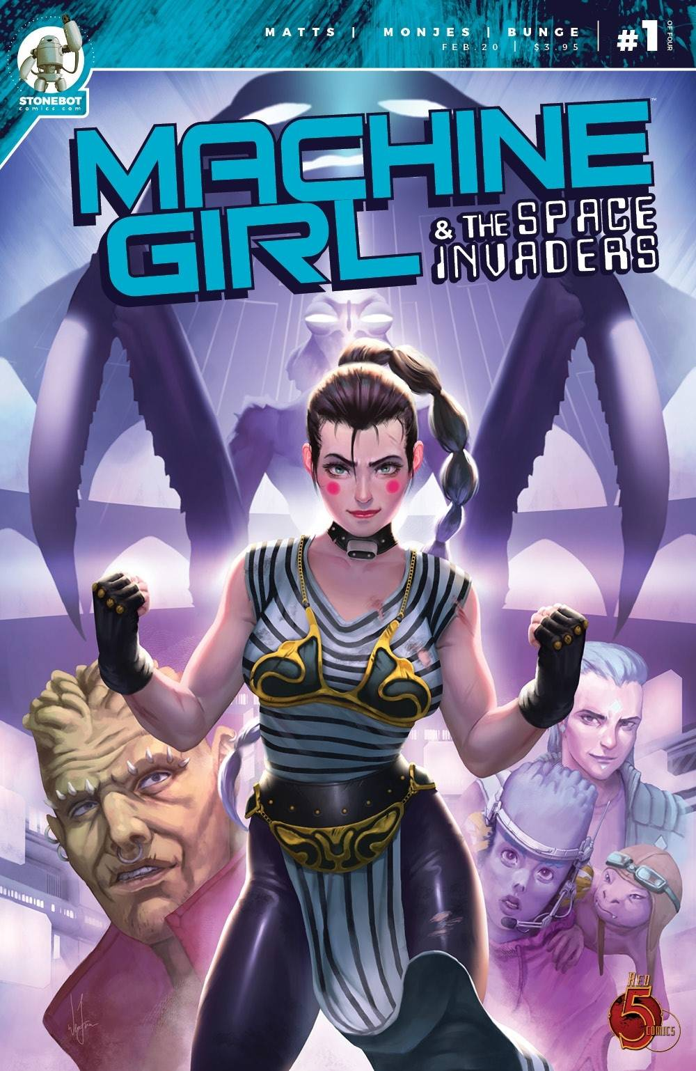 Machine Girl & Space Invaders #1 (2020)
