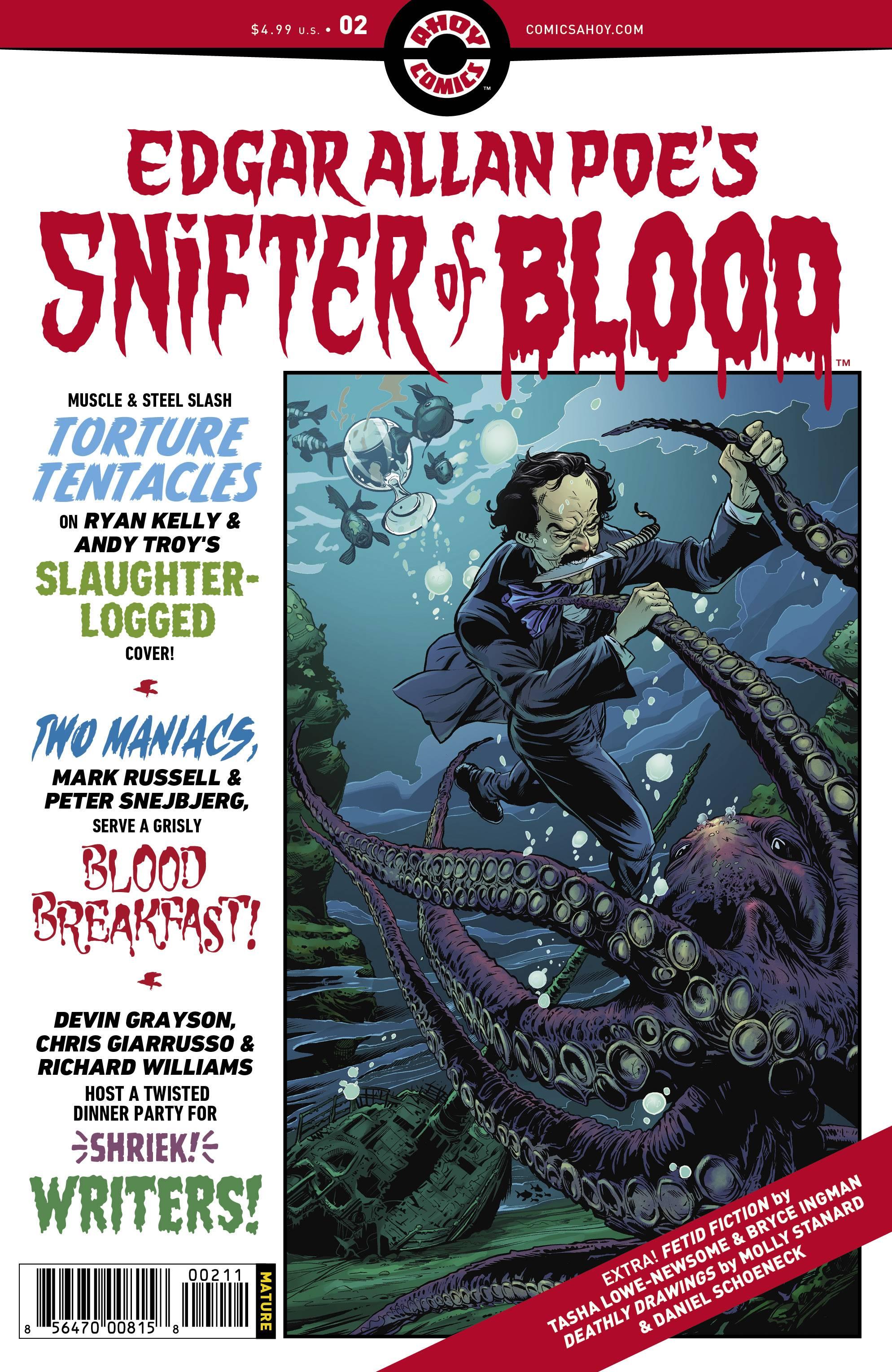 Edgar Allan Poe`s Snifter Of Blood #2 (2020)