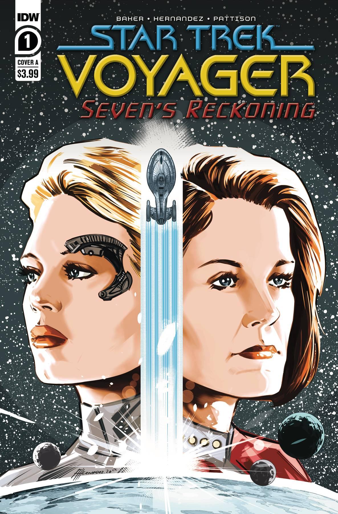 Star Trek: Voyager: Seven's Reckoning #1 (2020)