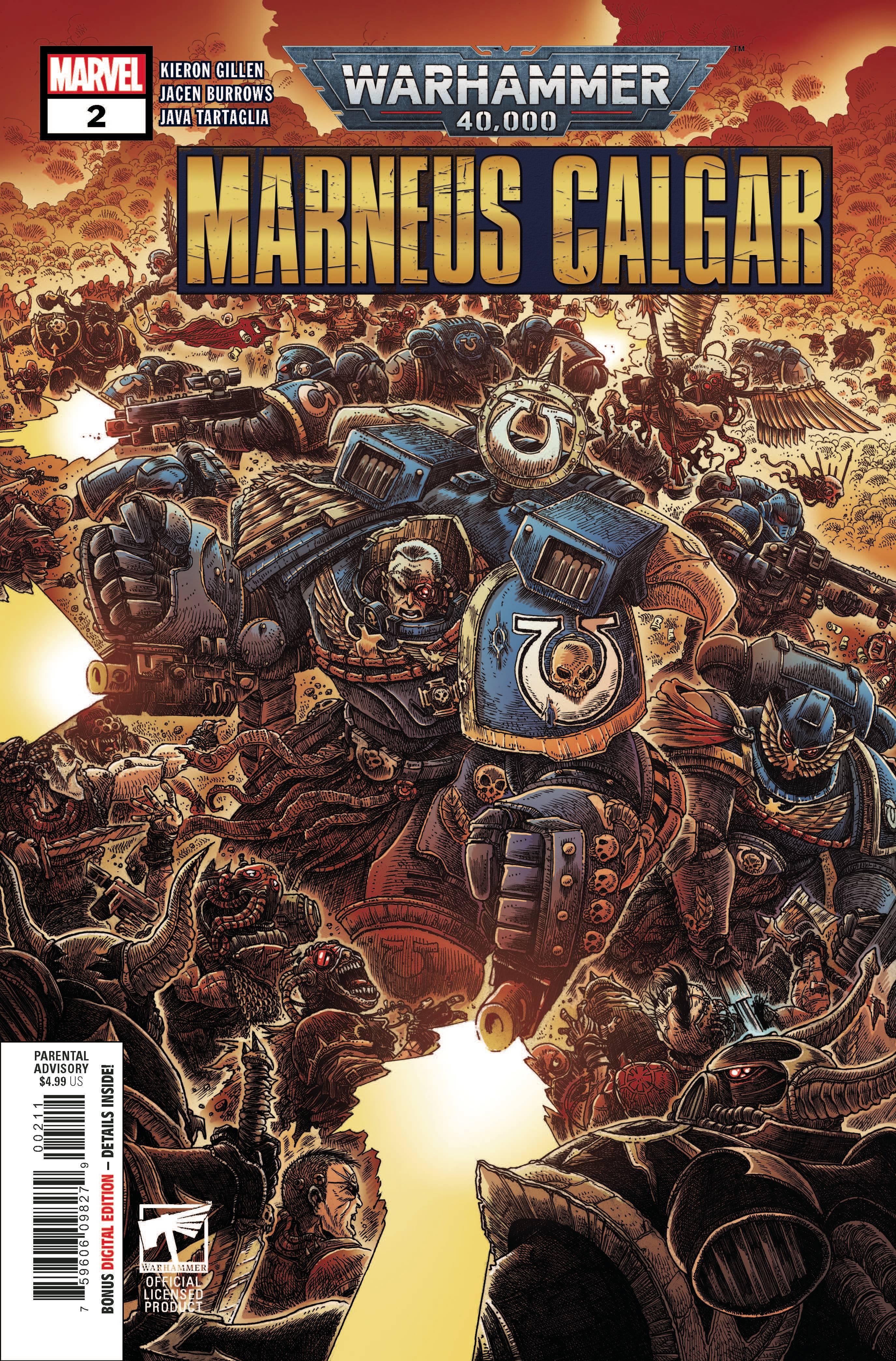 Warhammer 40,000: Marneus Calgar #2 (2020)