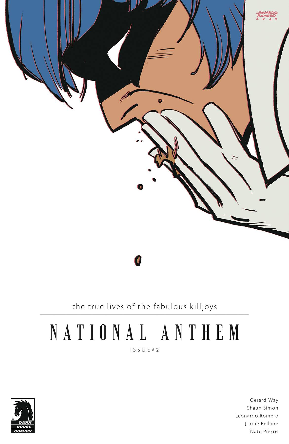 The True Lives of the Fabulous Killjoys: National Anthem #2 (2020)
