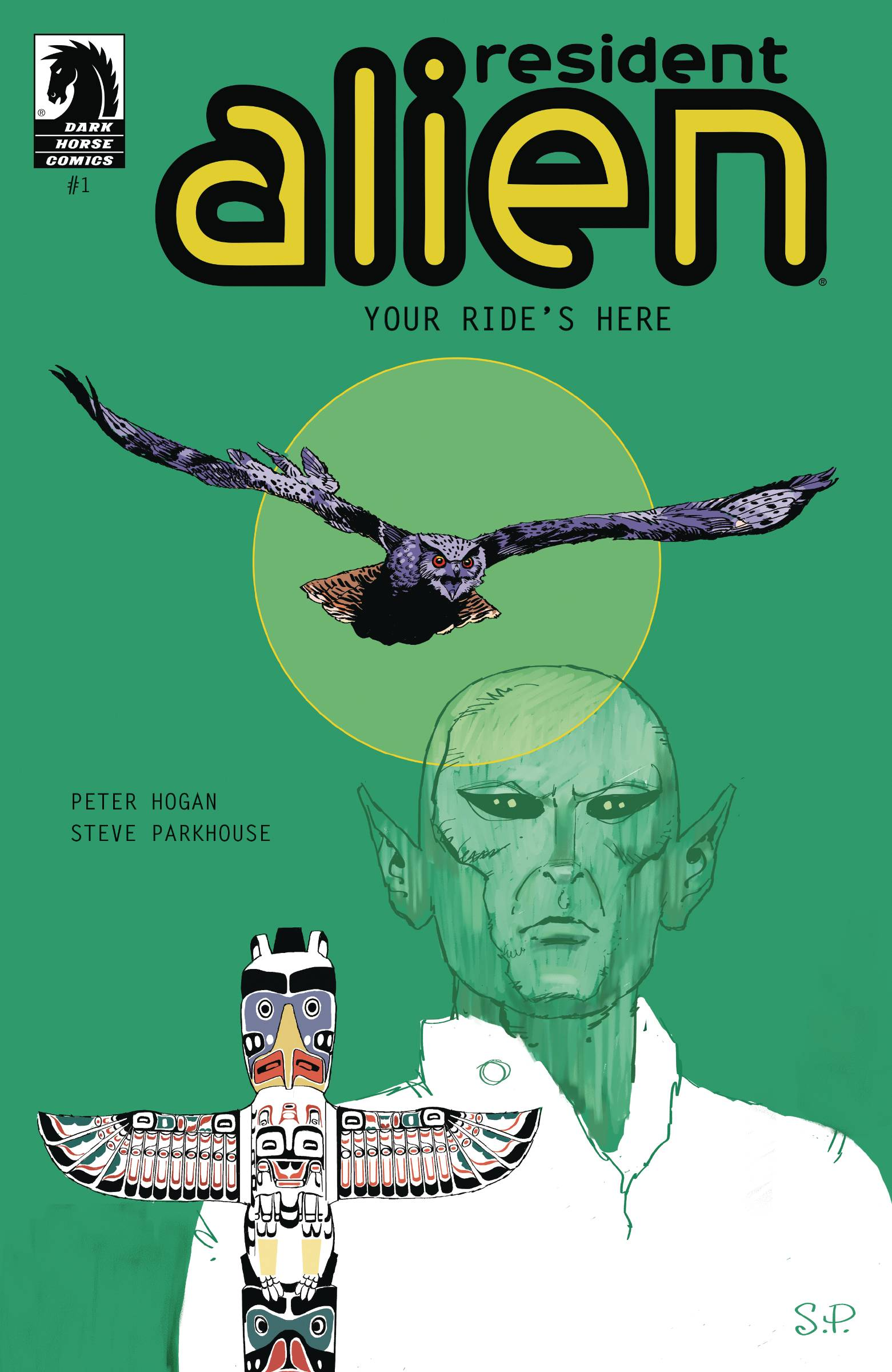 Resident Alien: Your Ride's Here #1 (2020)