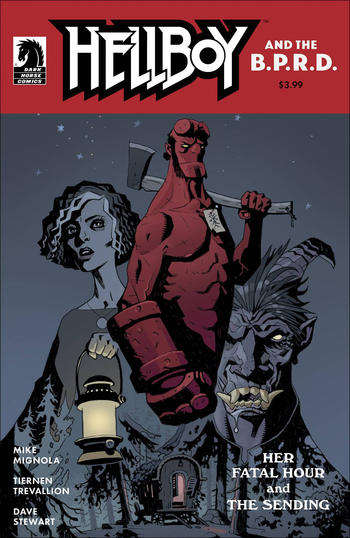 Hellboy and the BPRD: Her Fatal Hour #1