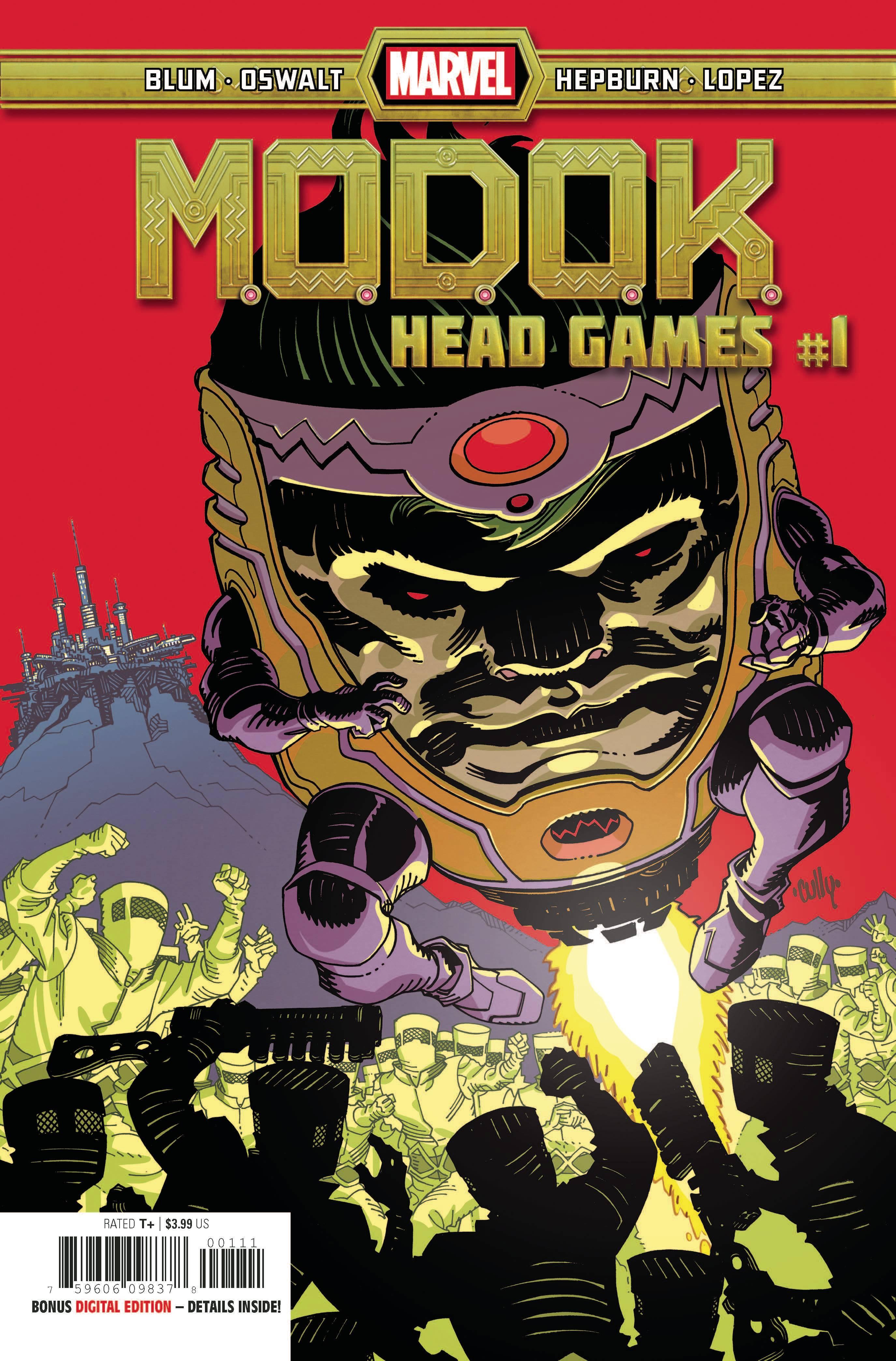 MODOK: Head Games #1 (2020)