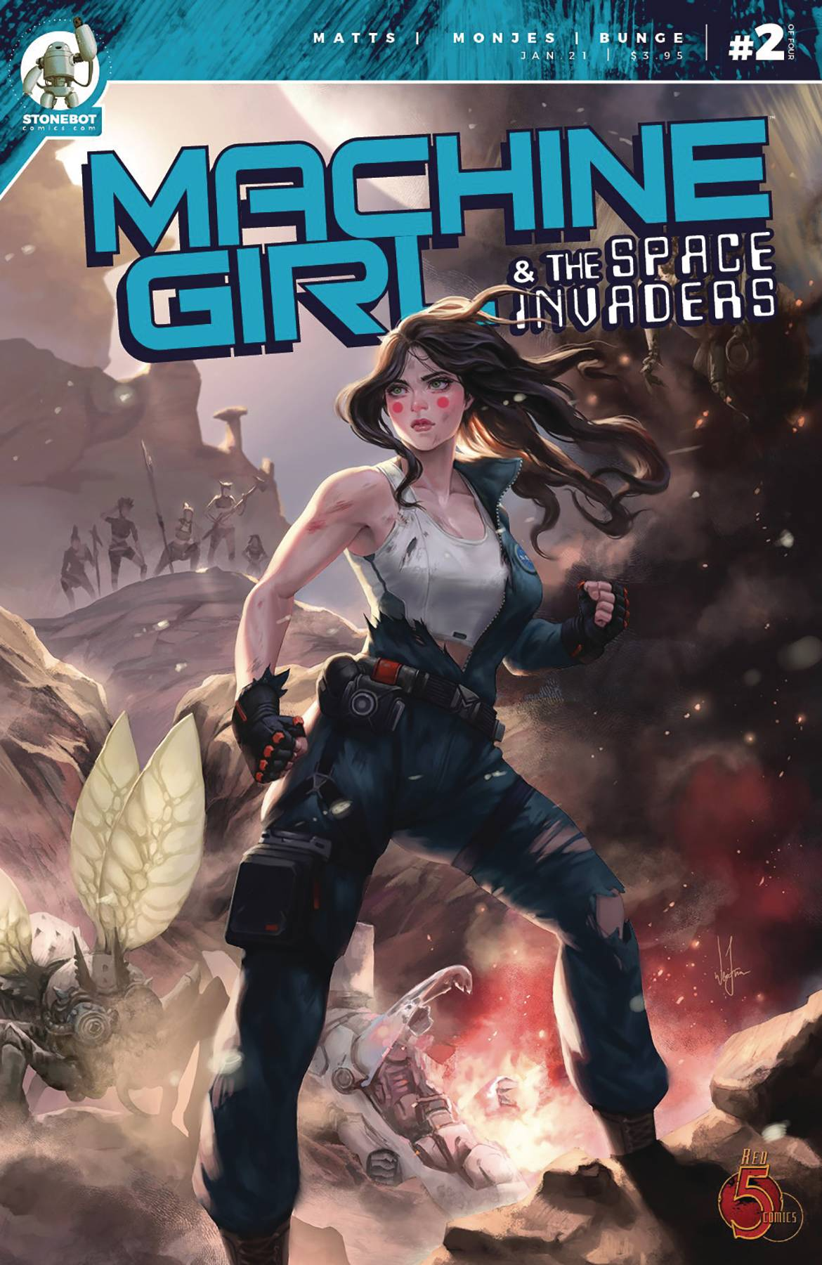 Machine Girl & Space Invaders #2 (2020)
