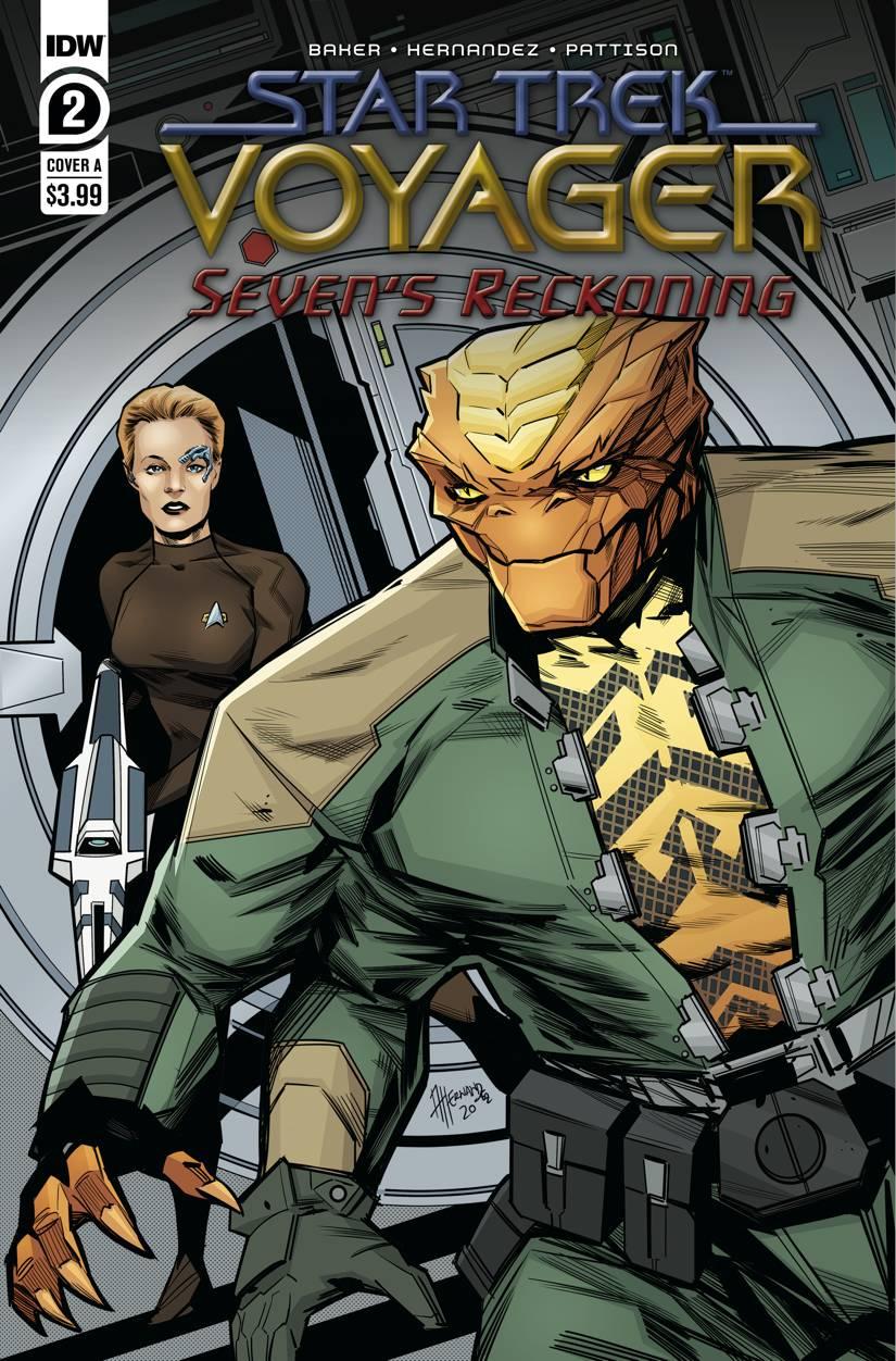Star Trek: Voyager: Seven's Reckoning #2 (2020)