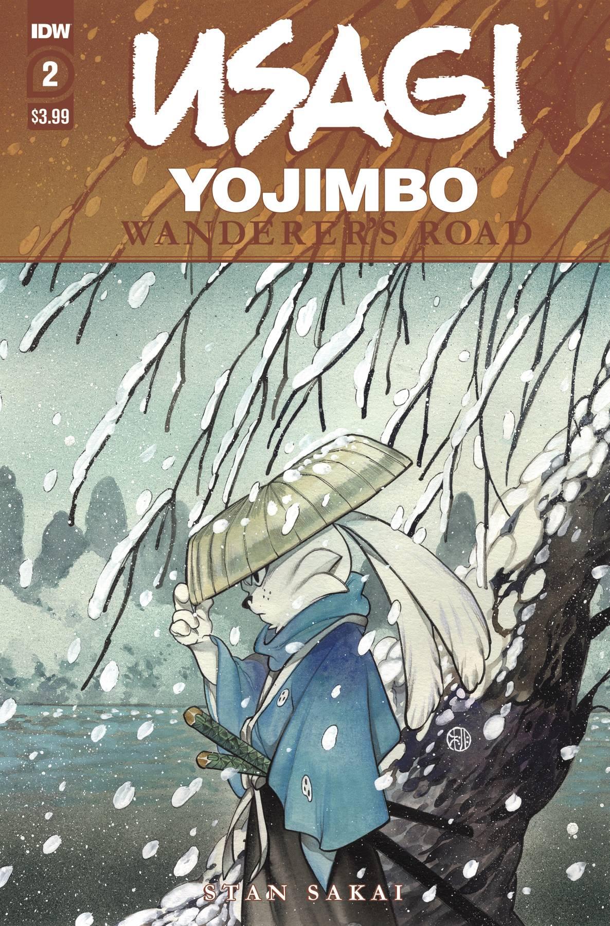 Usagi Yojimbo: Wanderers Road #2 (2020)