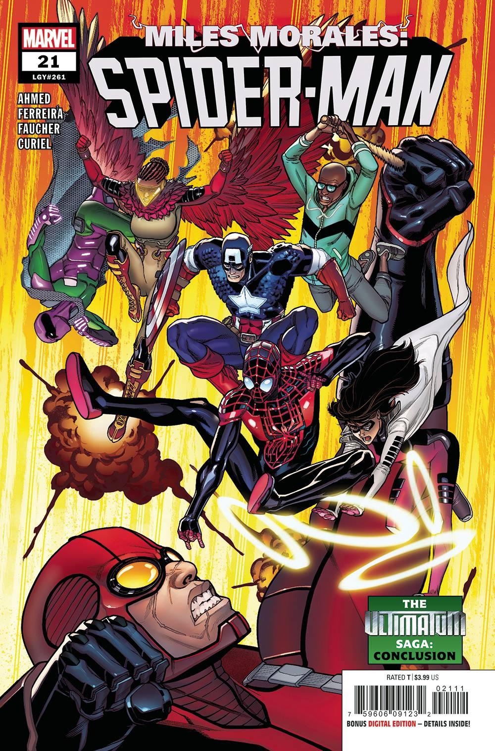 Miles Morales: Spider-Man #21 (2020)