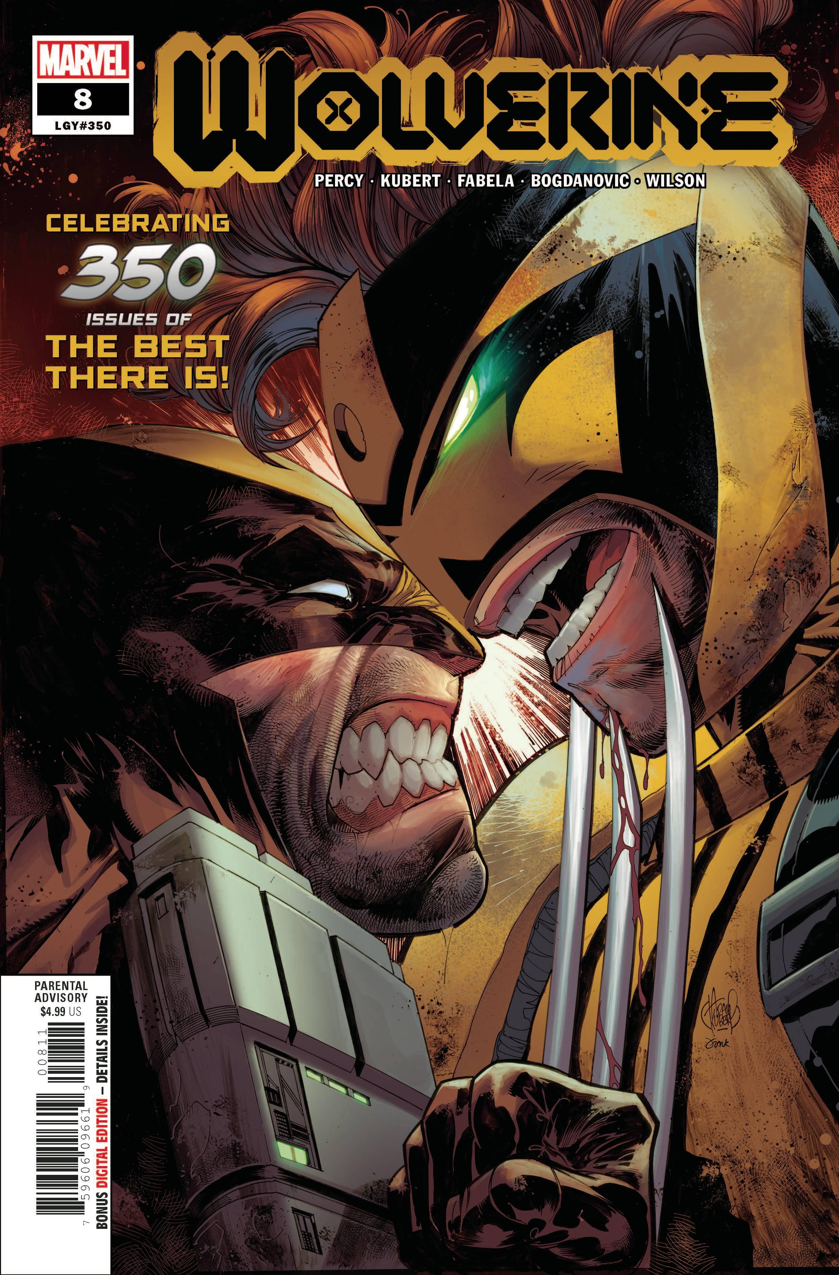 Wolverine #8 (2020)