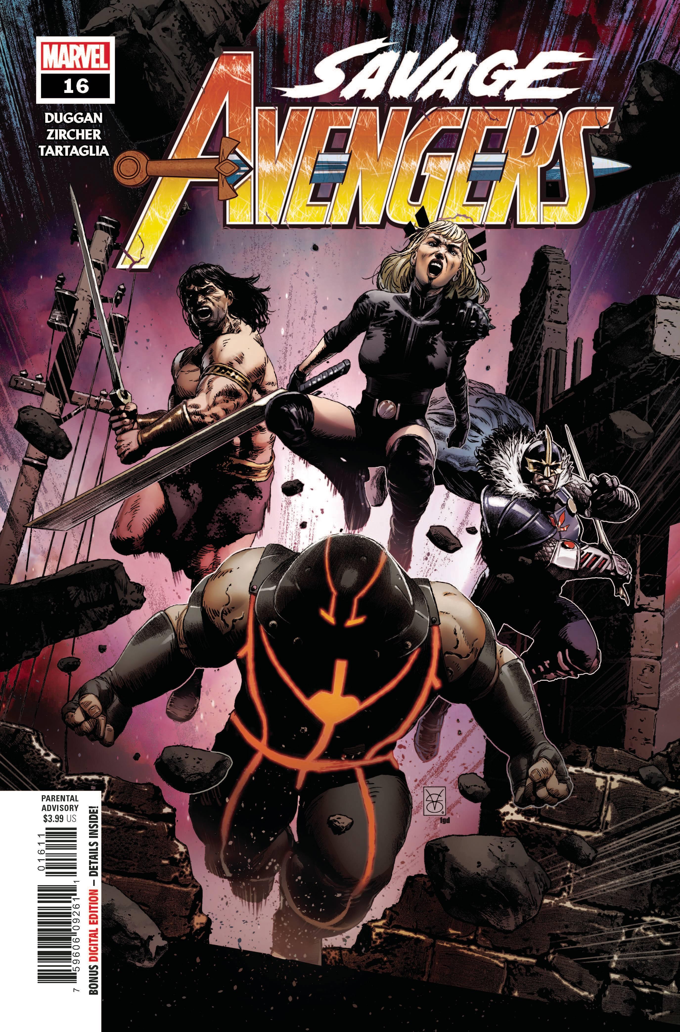 Savage Avengers #16 (2020)