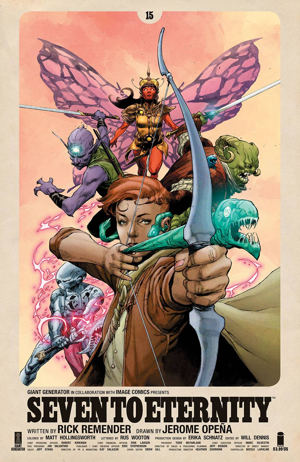 Seven to Eternity #15 (2020)