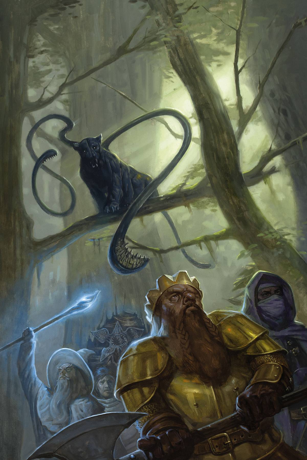 Stranger Things/Dungeons and Dragons Crossover #3 (2020)