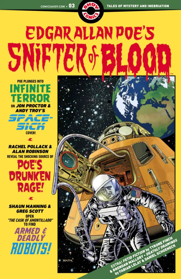 Edgar Allan Poe`s Snifter Of Blood #3 (2020)