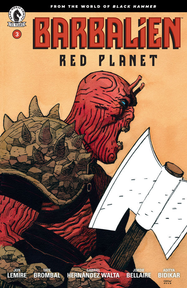 Barbalien: Red Planet #3 (2021)