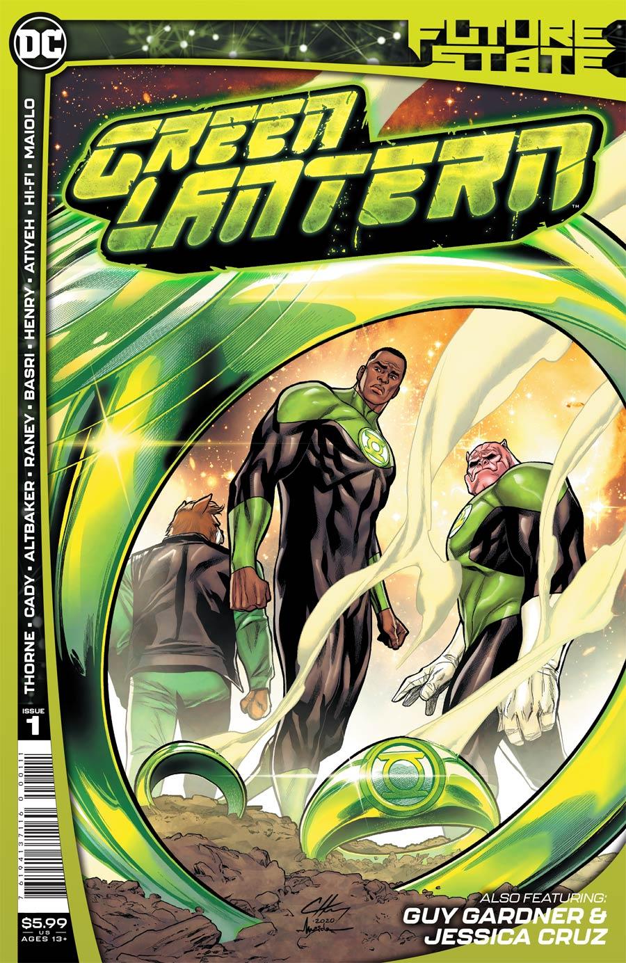 Future State: Green Lantern #1 (2021)