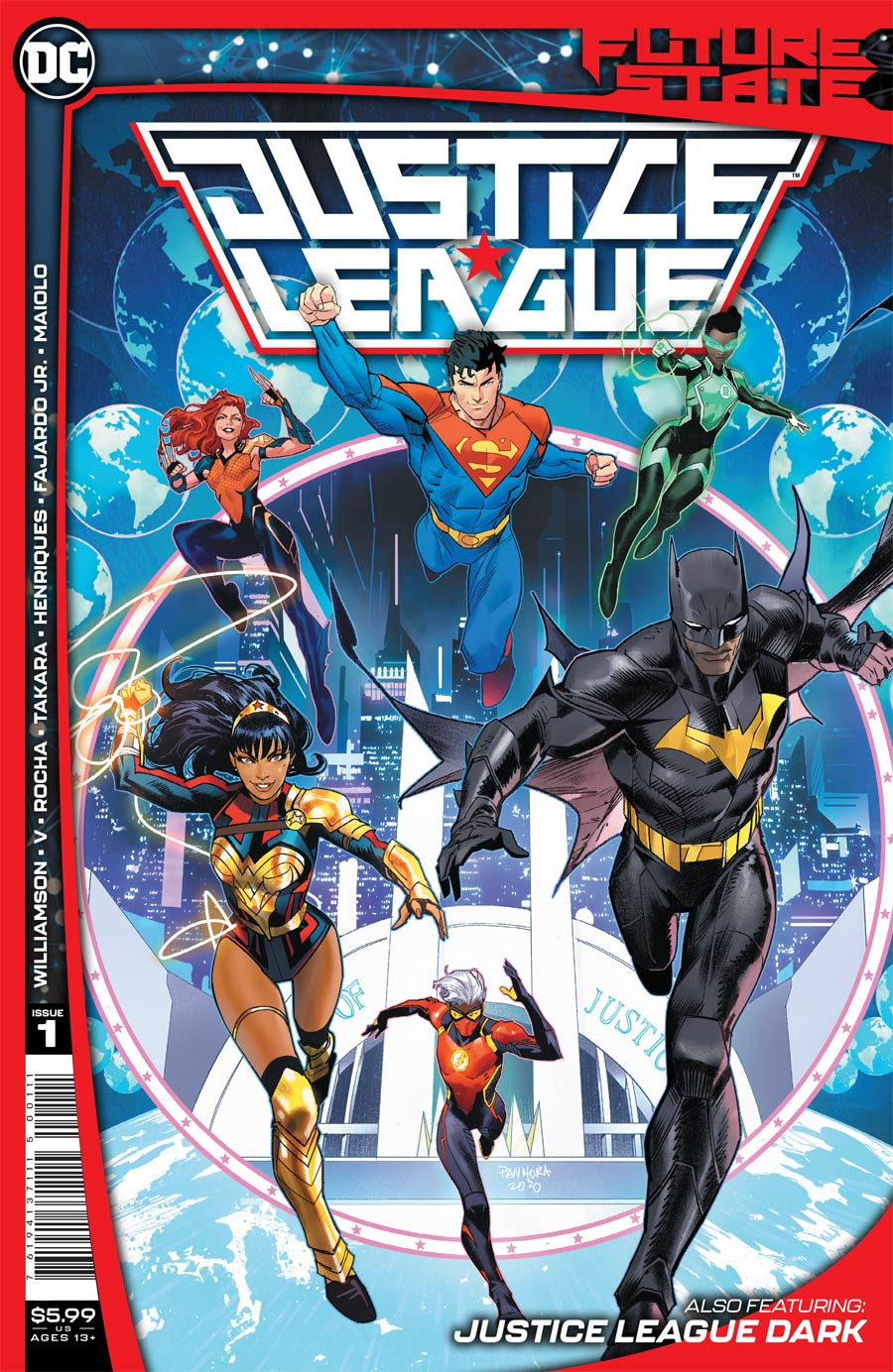 Future State: Justice League #1 (2021)