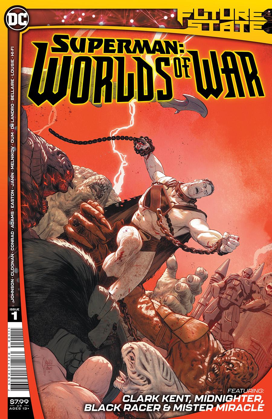 Future State: Superman - Worlds of War #1