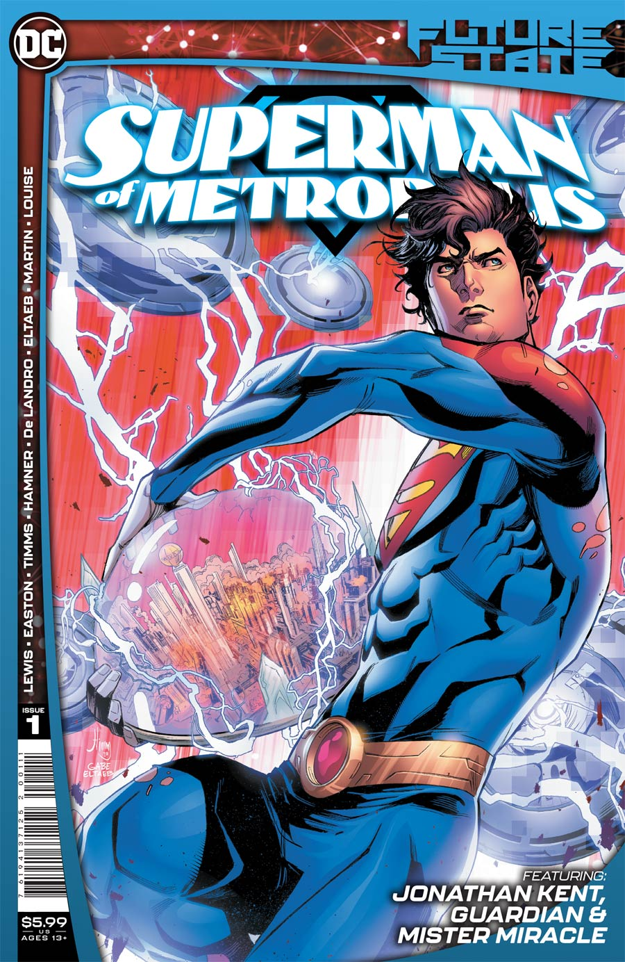 Future State: Superman of Metropolis #1 (2021)