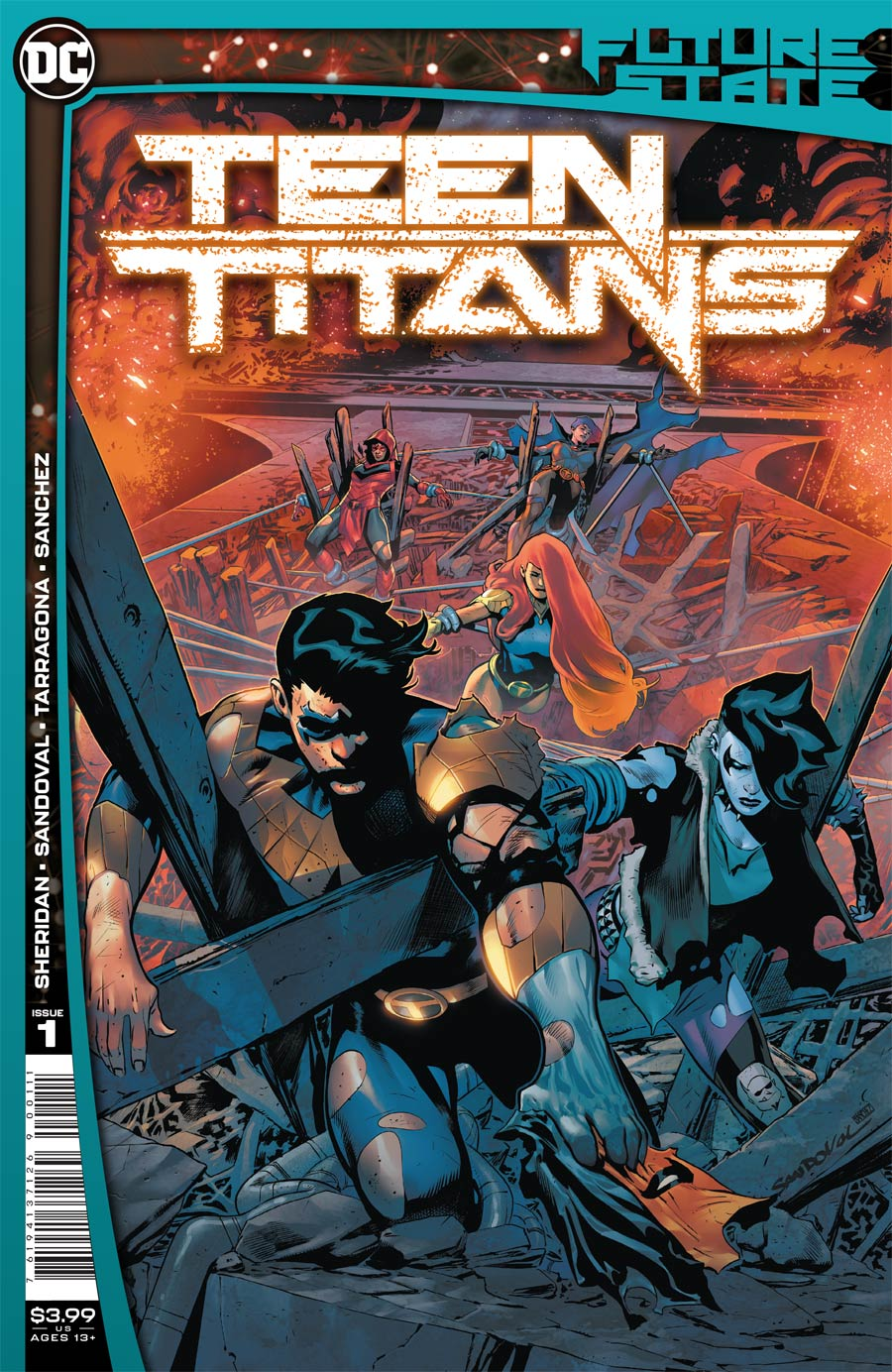 Future State: Teen Titans #1 (2021)
