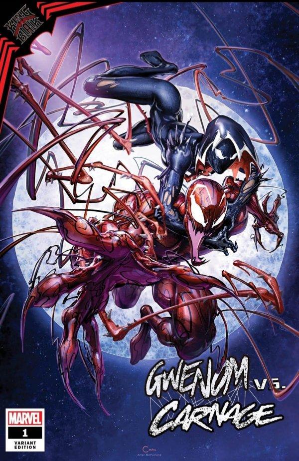 King In Black - Gwenom Vs Carnage #1 (2021)