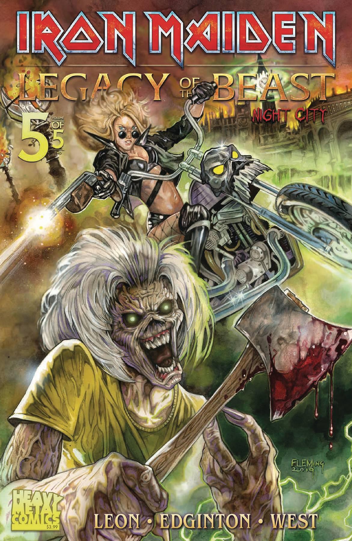 Iron Maiden: Legacy of the Beast Vol 2 - Night City #5 (2021)