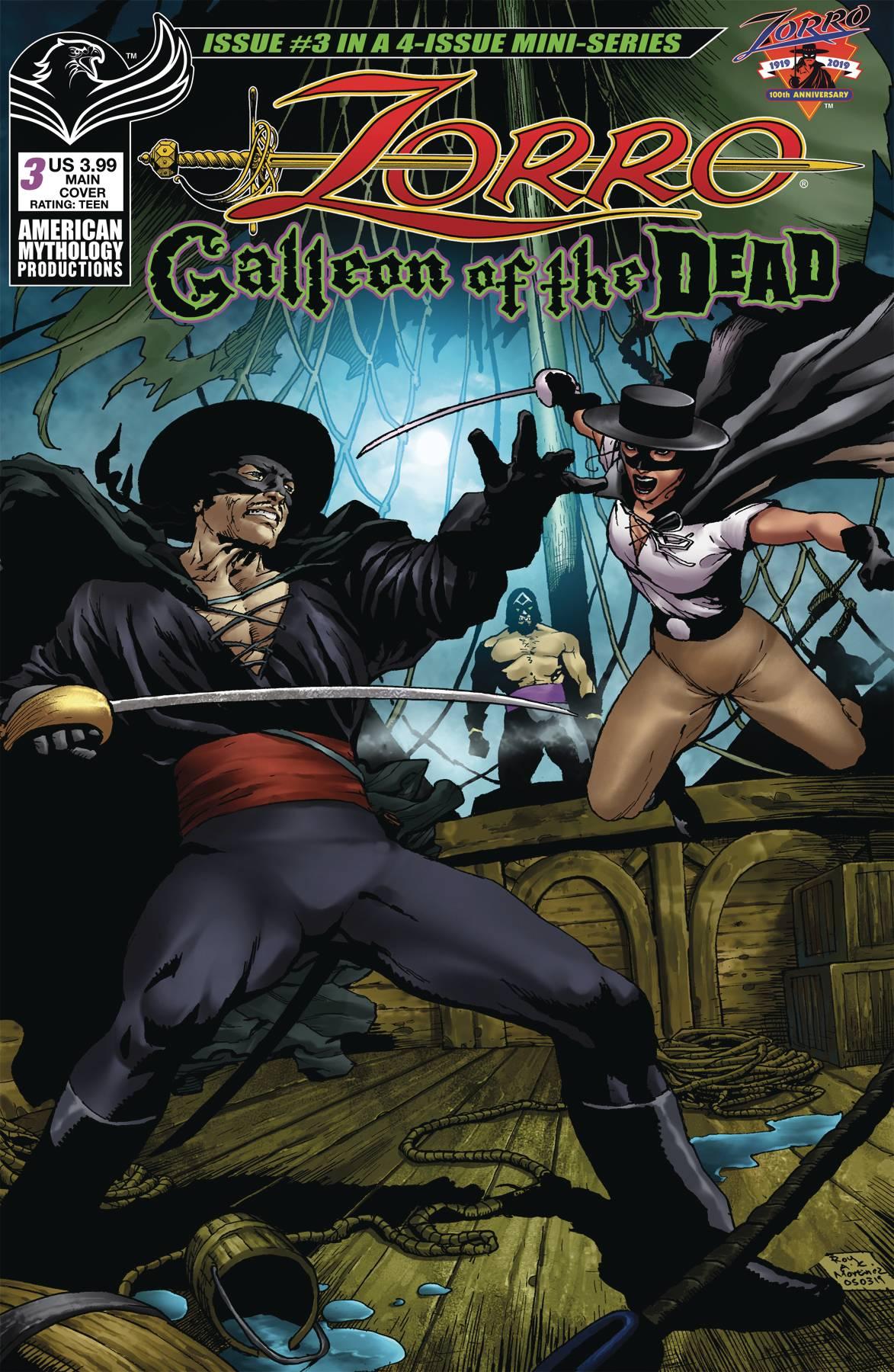 Zorro: Galleon Of Dead #3