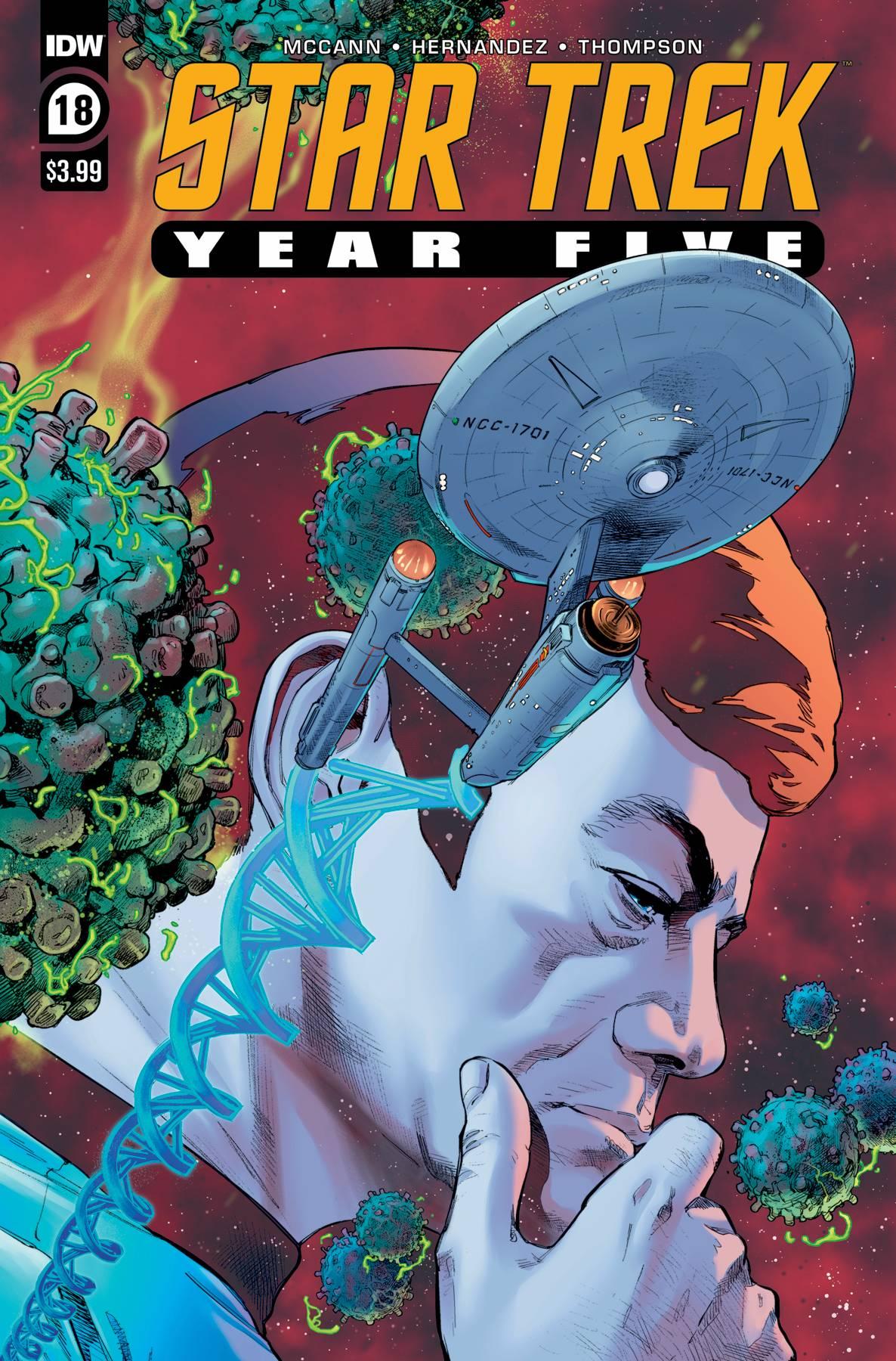 Star Trek: Year Five #18 (2021)