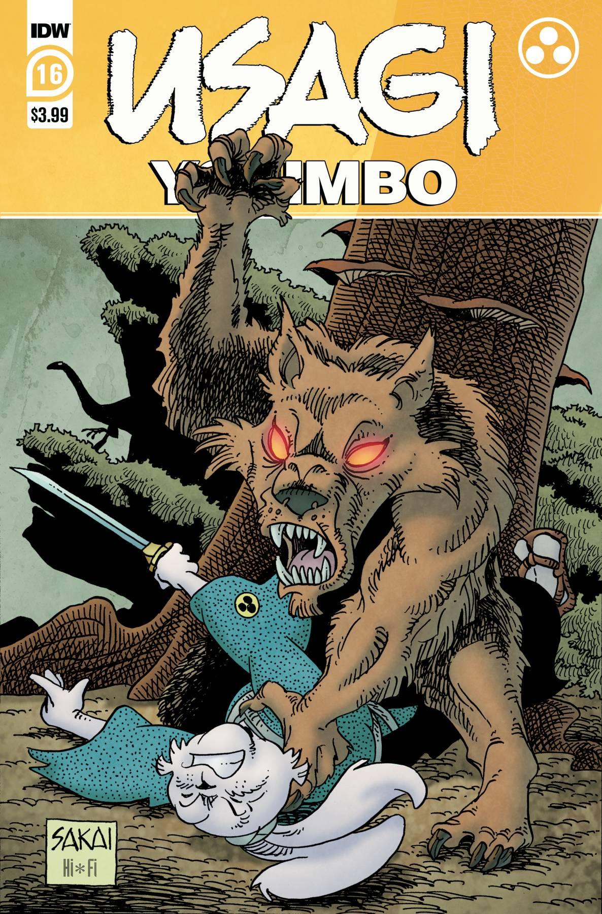 Usagi Yojimbo #16 (2021)