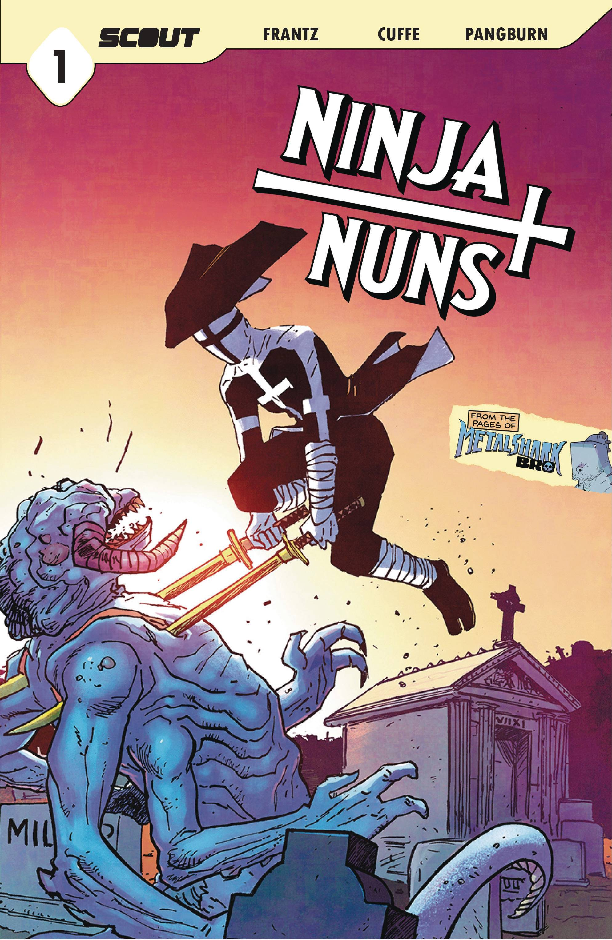 Ninja Nuns: Bad Habits Die Hard #1 (2021)