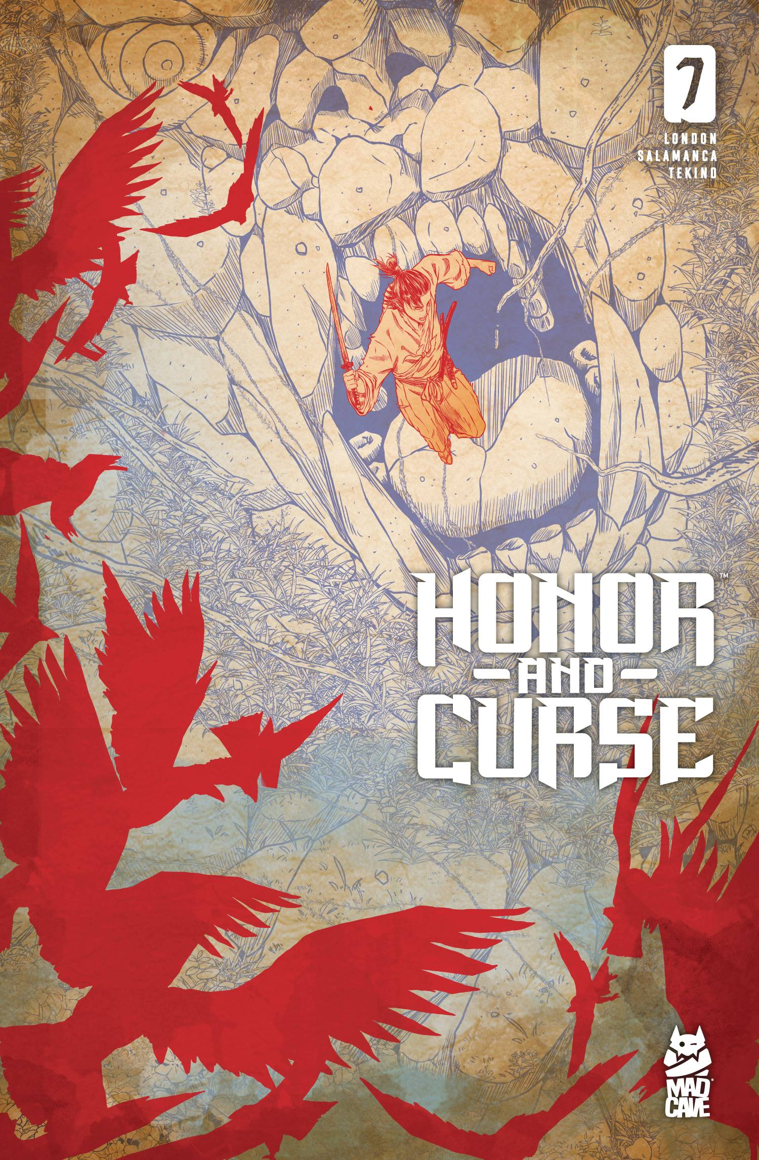 Honor and Curse #7 (2021)