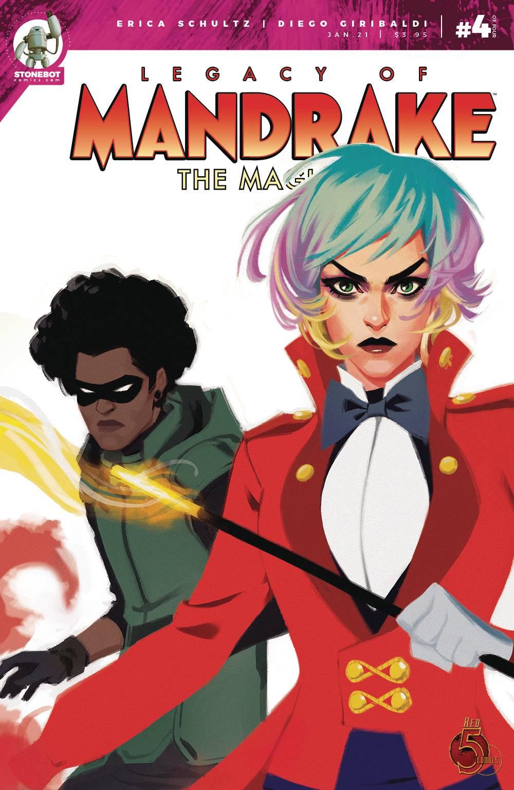 Legacy Of Mandrake The Magician #4
