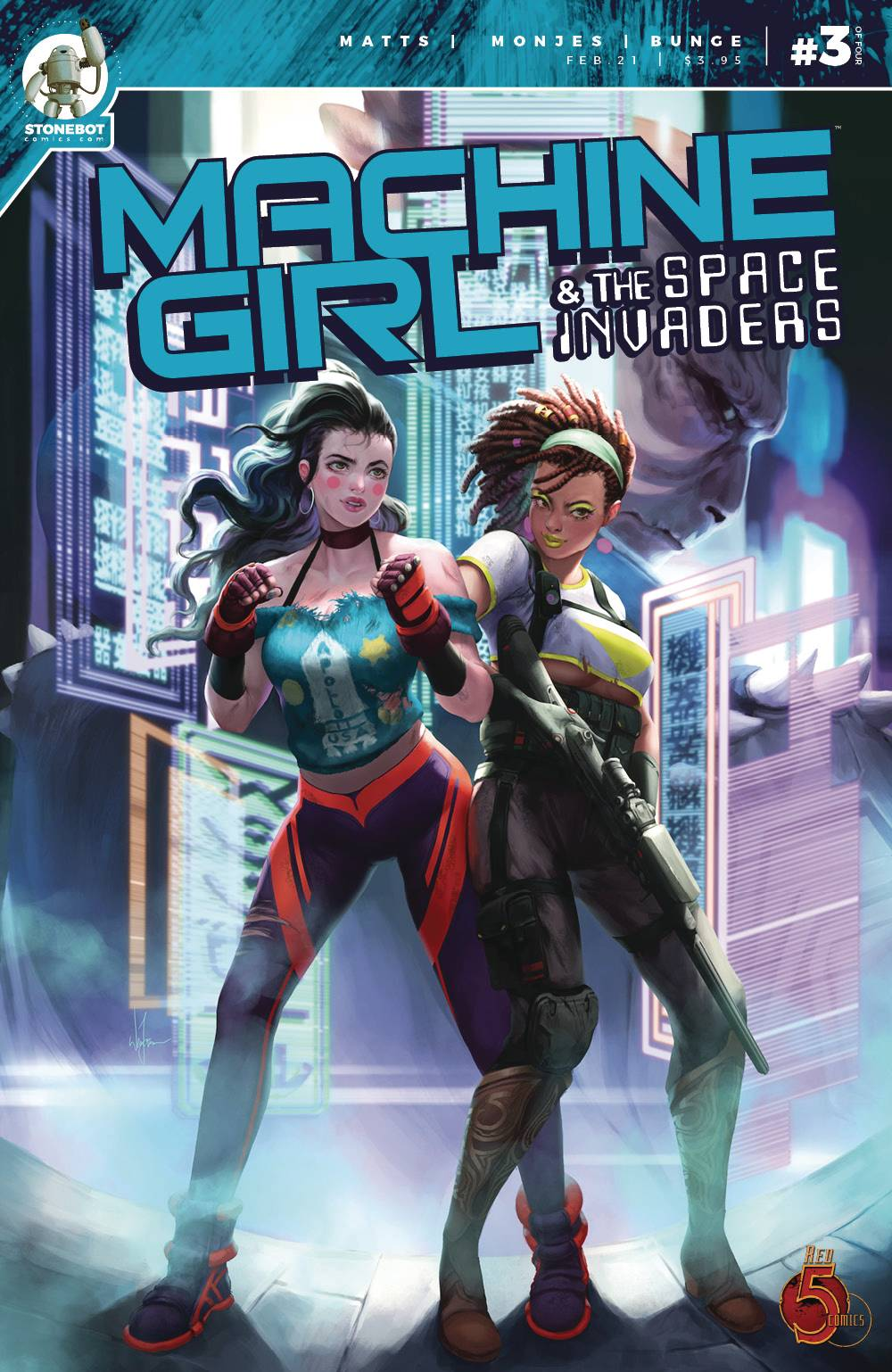 Machine Girl & Space Invaders #3 (2021)