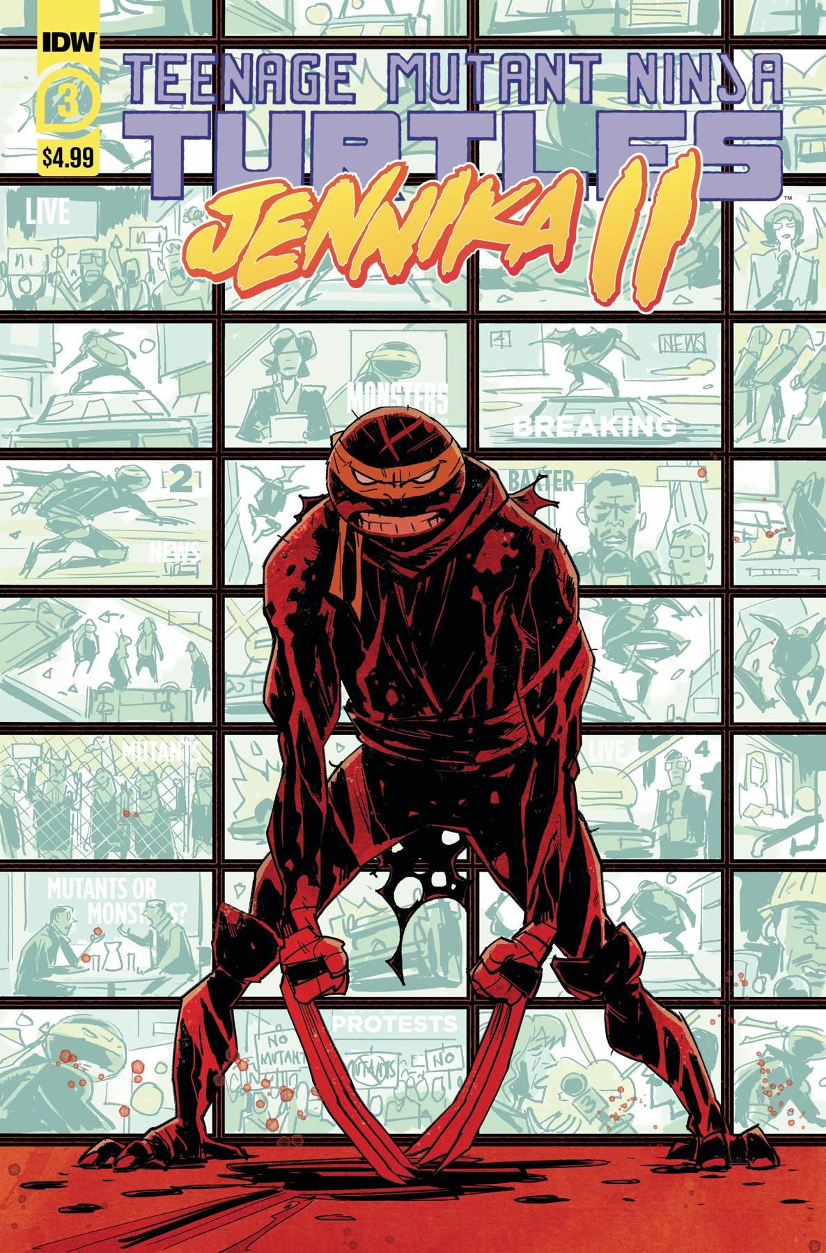 TMNT: Jennika II #3
