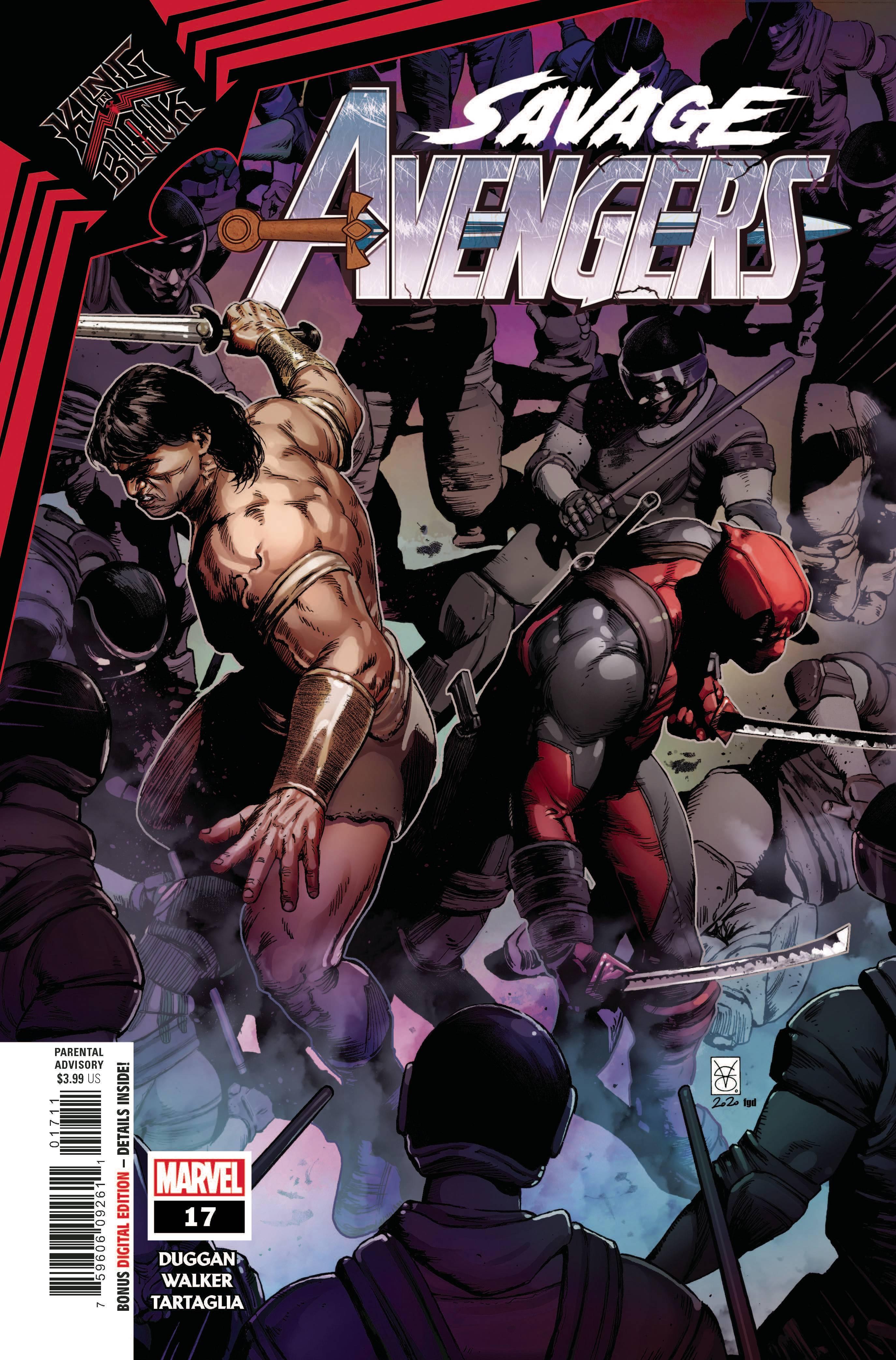 Savage Avengers #17 (2021)
