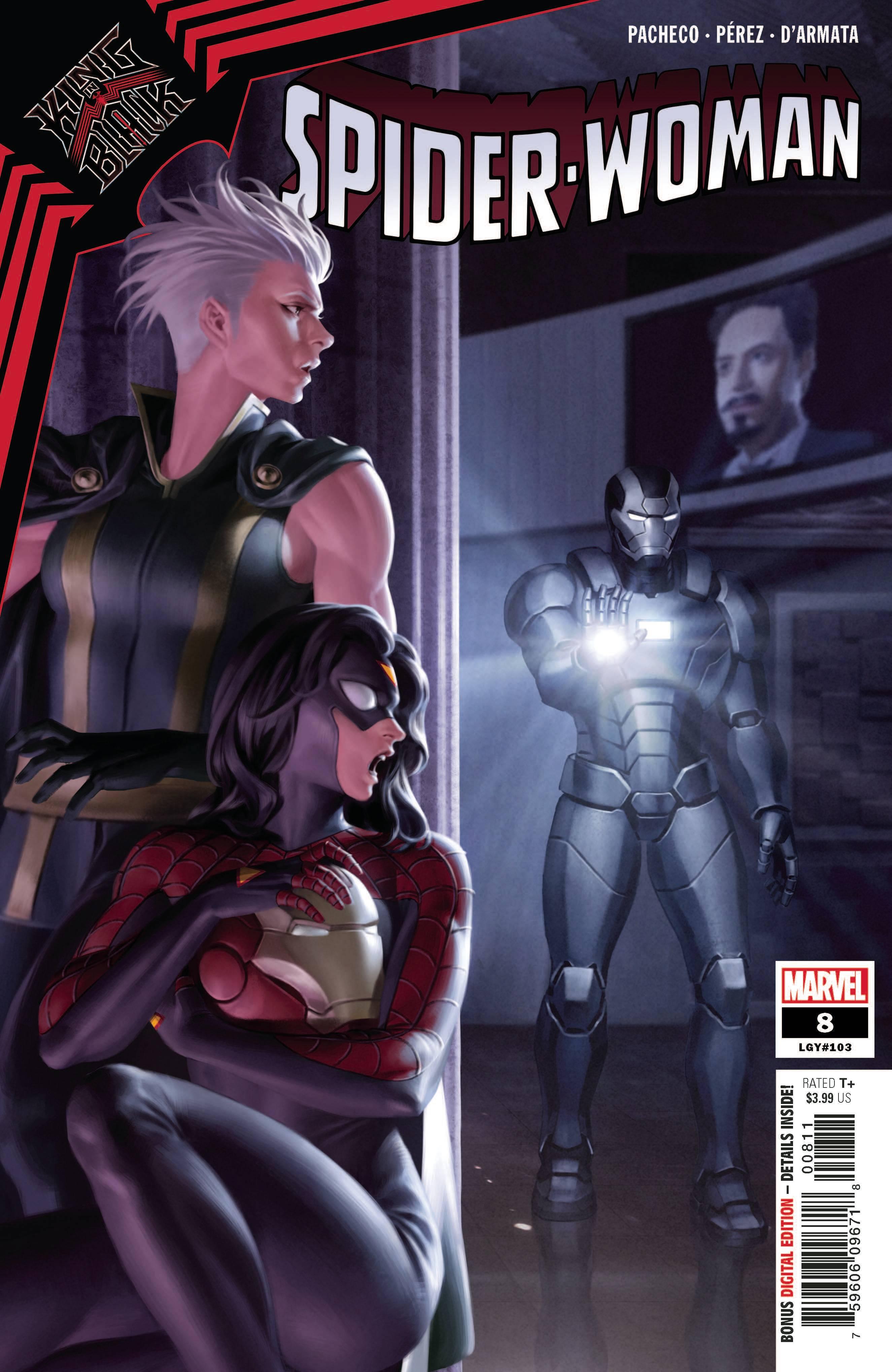 Spider-Woman #8 (2021)