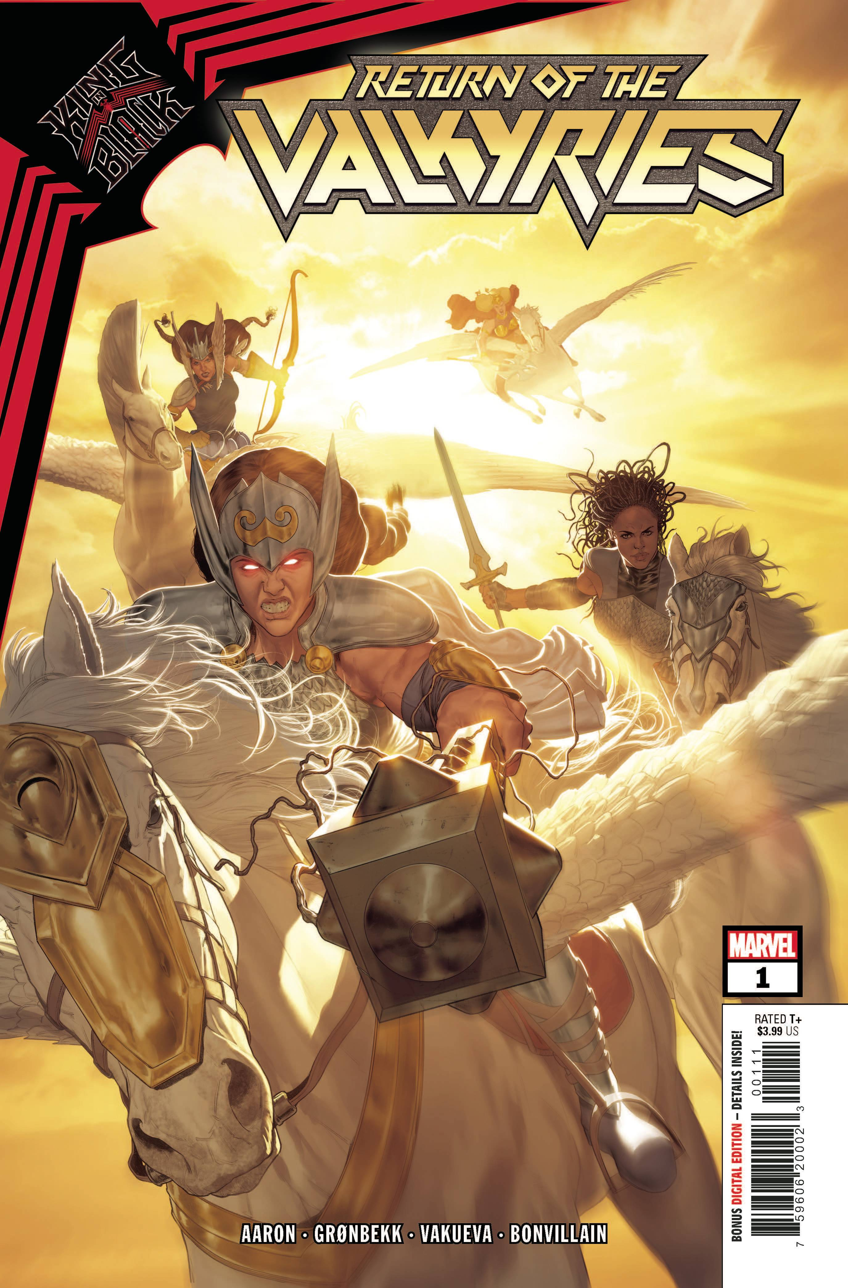 King In Black: Return of the Valkyries #1 (2021)
