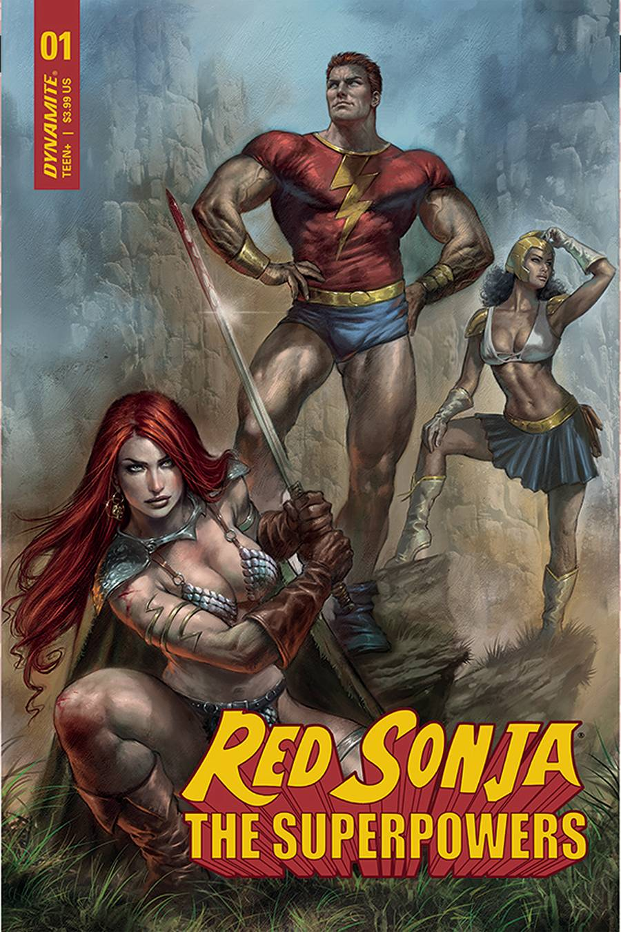 Red Sonja: The Superpowers #1 (2021)
