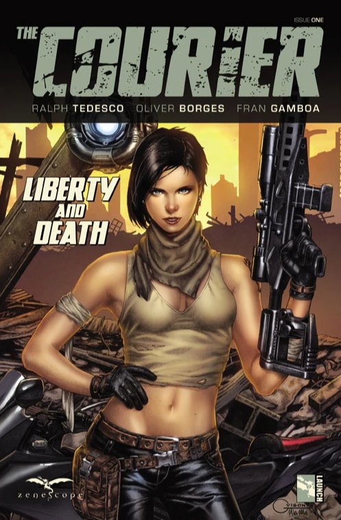 Courier Liberty and Death #1 (2021)