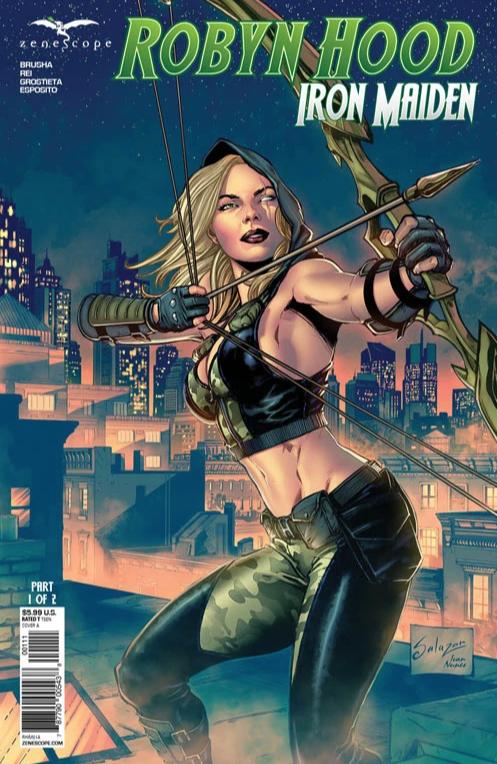 Robyn Hood: Iron Maiden #1 (2021)