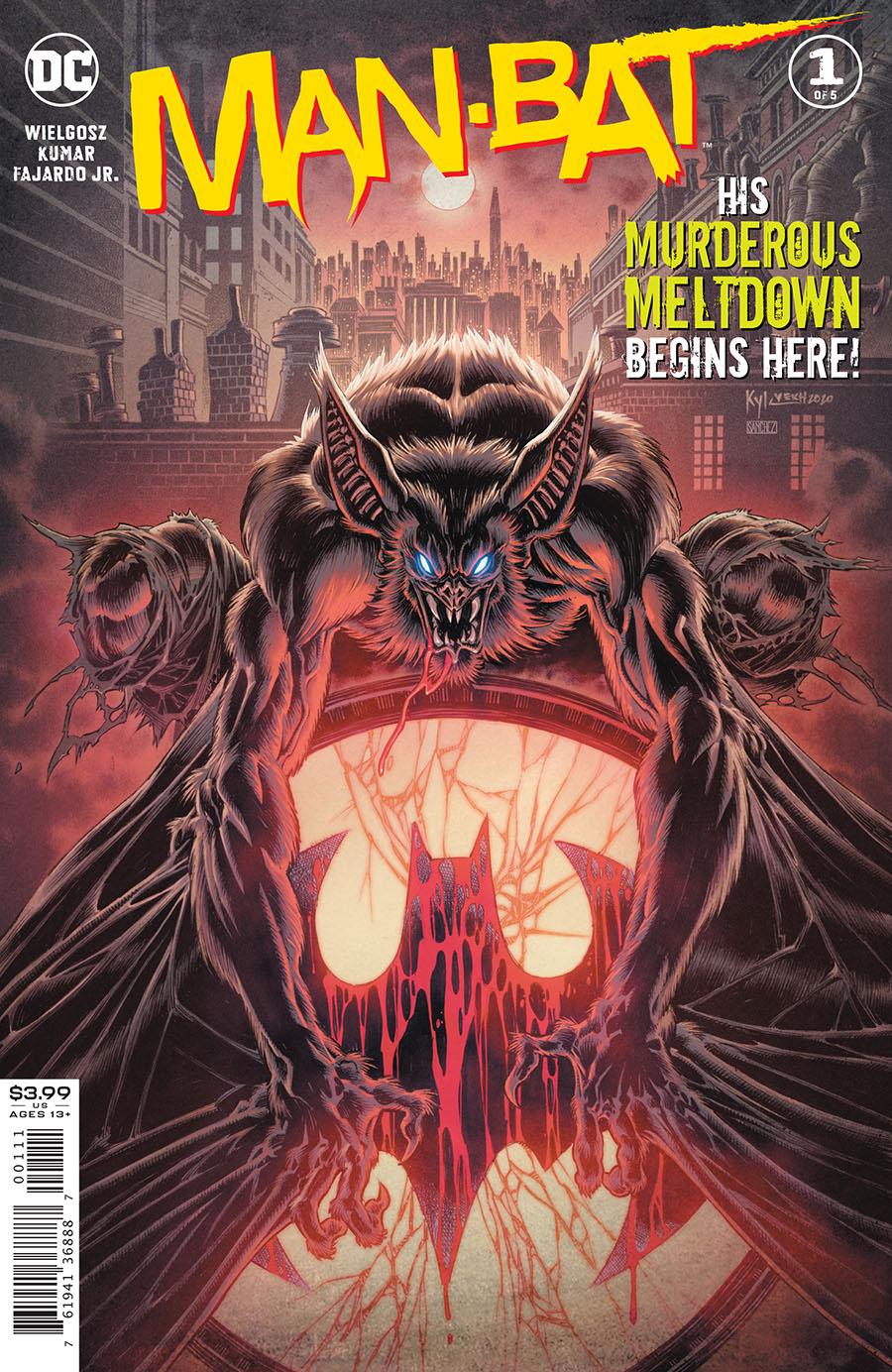 Man-Bat #1 (2021)