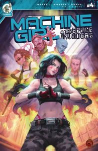 Machine Girl & Space Invaders #4 (2021)