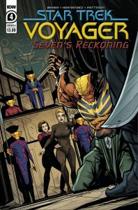 Star Trek: Voyager: Seven's Reckoning #4 (2021)